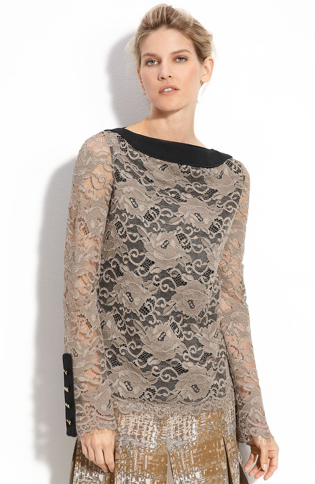 Alternate Image 1 Selected - Tory Burch 'Neely' Lace Tunic
