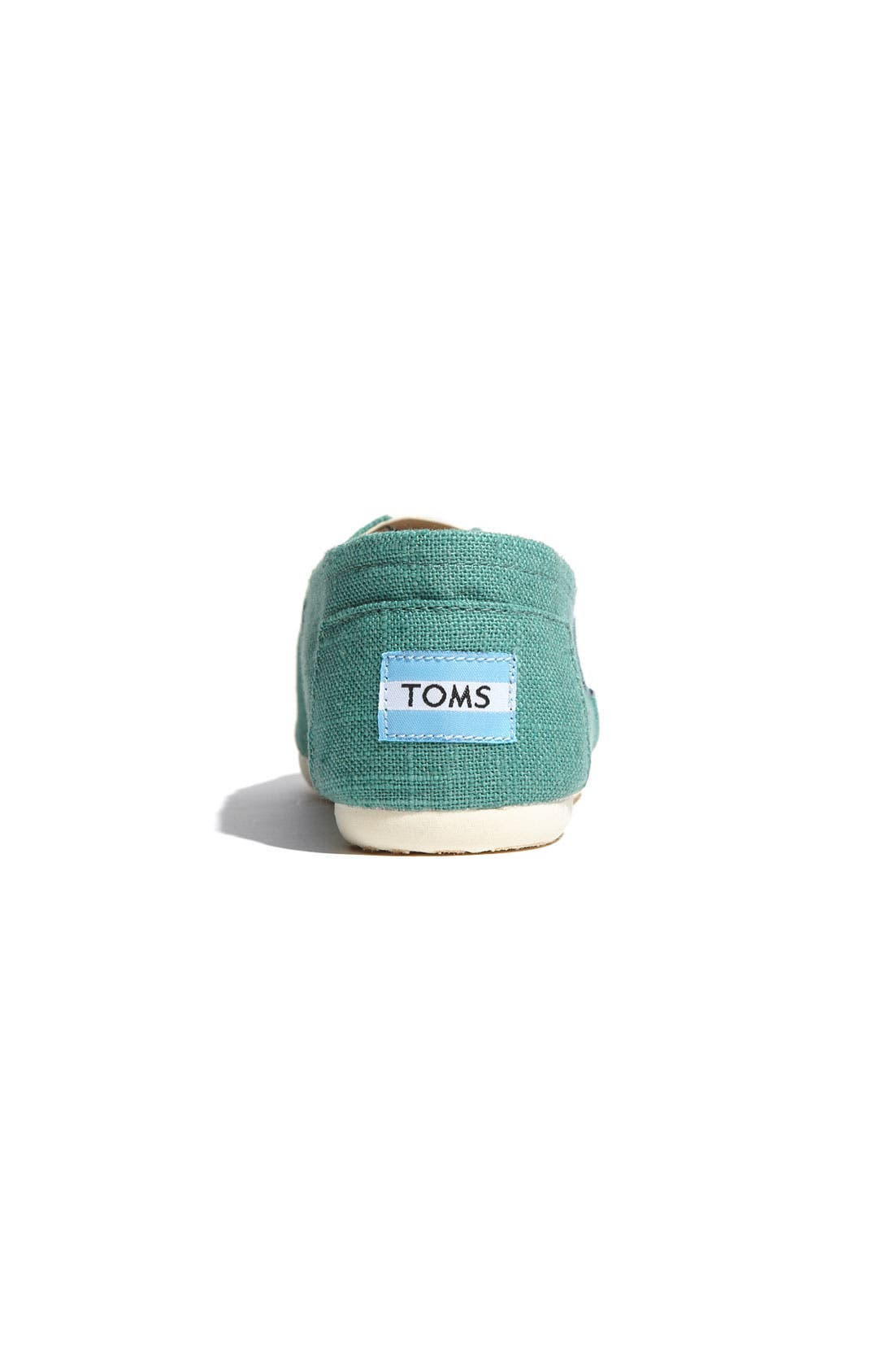 Alternate Image 4  - TOMS 'Classic' Linen Slip-On (Women)