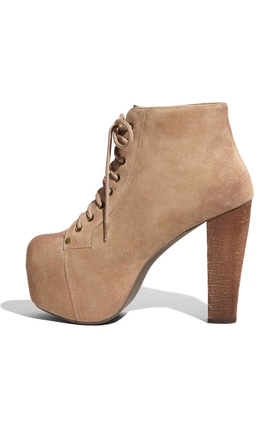 Alternate Image 2  - Jeffrey Campbell 'Lita' Suede Bootie (Women)