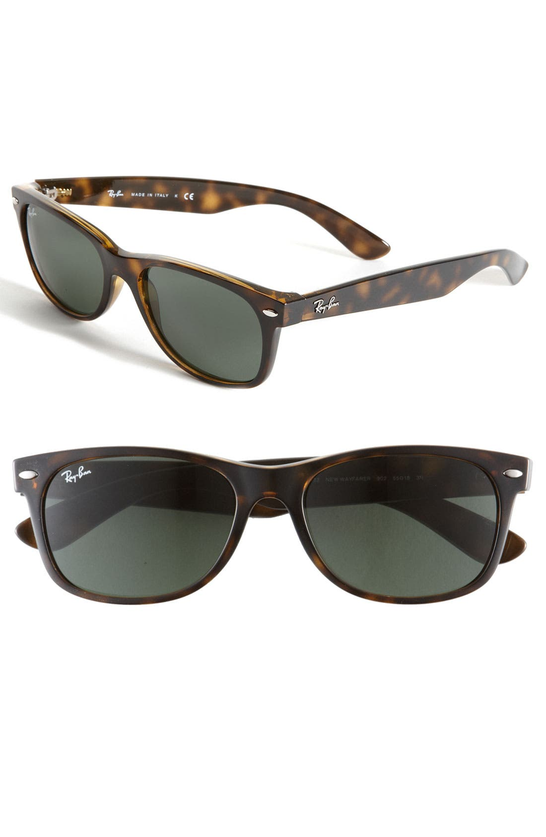 Main Image - Ray-Ban Standard New Wayfarer 55mm Sunglasses
