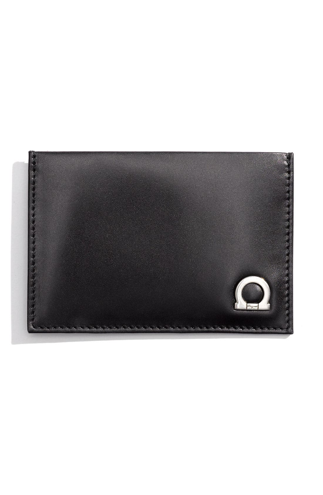 Alternate Image 1 Selected - Salvatore Ferragamo 'Montecarlo' Card Case