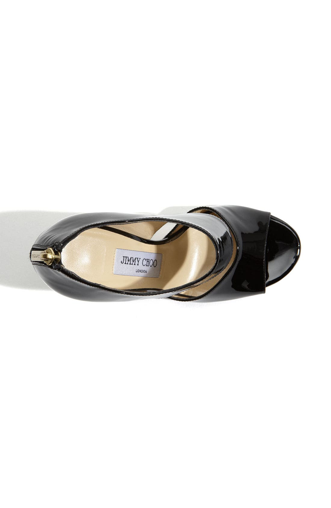 Alternate Image 3  - Jimmy Choo 'Private' Cuff Patent Leather Sandal
