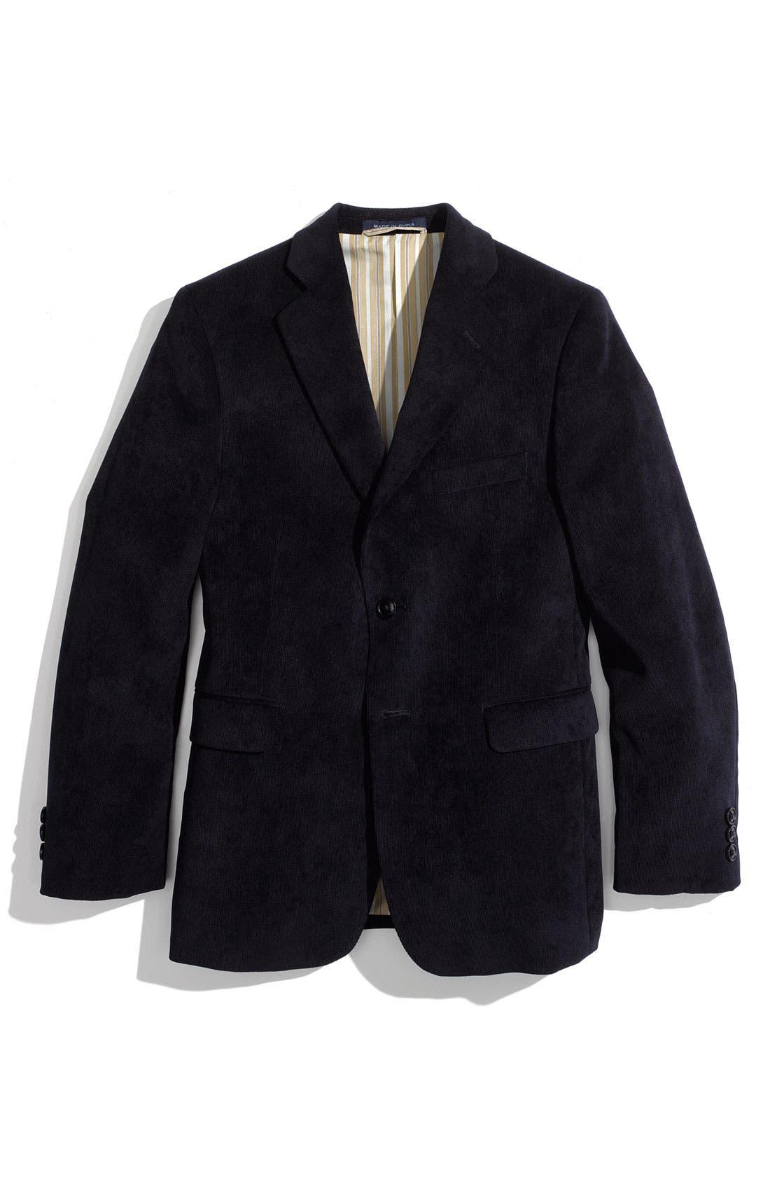 Alternate Image 1 Selected - Joseph Abboud Corduroy Sportcoat (Big Boys)