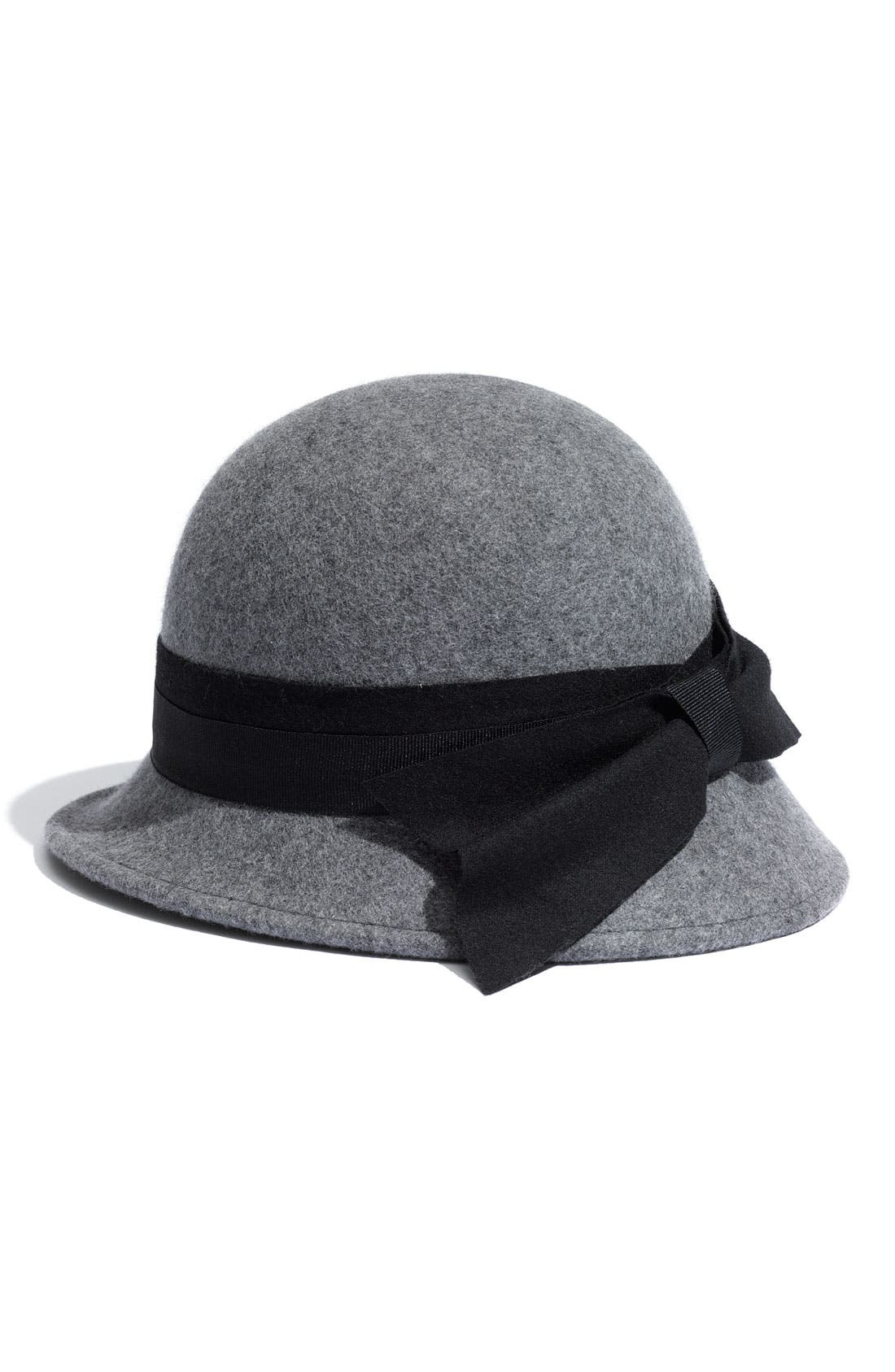 Alternate Image 1 Selected - Nordstrom Side Bow Cloche