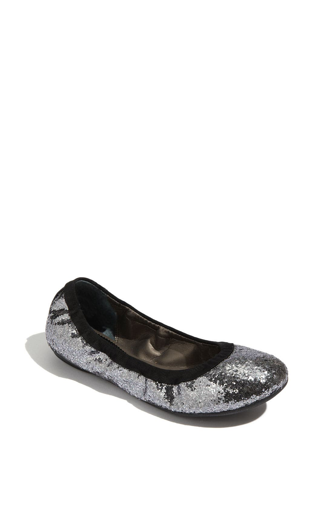 Alternate Image 1 Selected - Nordstrom 'Callen Glitter' Flat (Walker, Toddler, Little Kid & Big Kid)