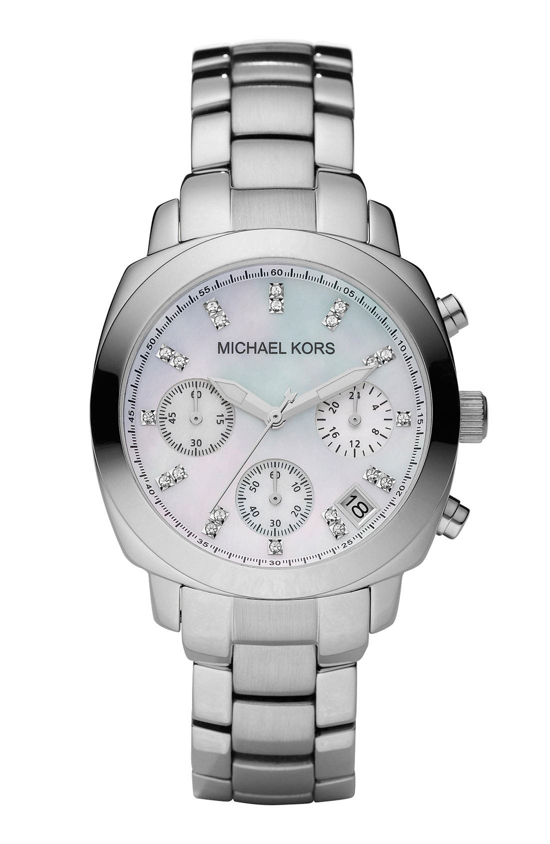 Alternate Image 1 Selected - Michael Kors Chronograph Bracelet Watch