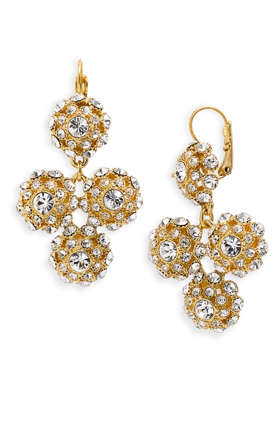 Main Image - kate spade new york 'putting on the ritz' chandelier earrings