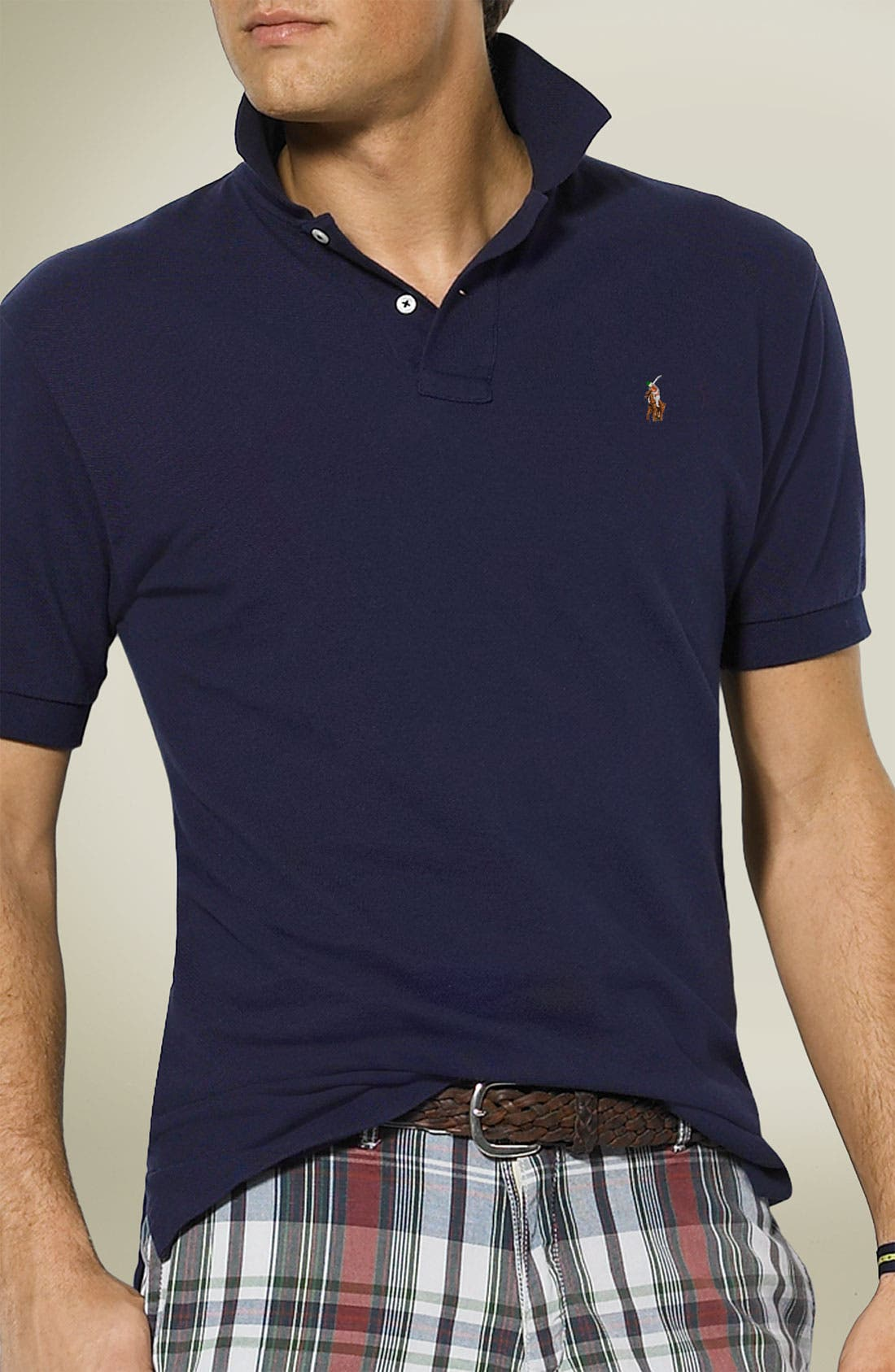Alternate Image 1 Selected - Polo Ralph Lauren Classic Fit Piqué Cotton Polo