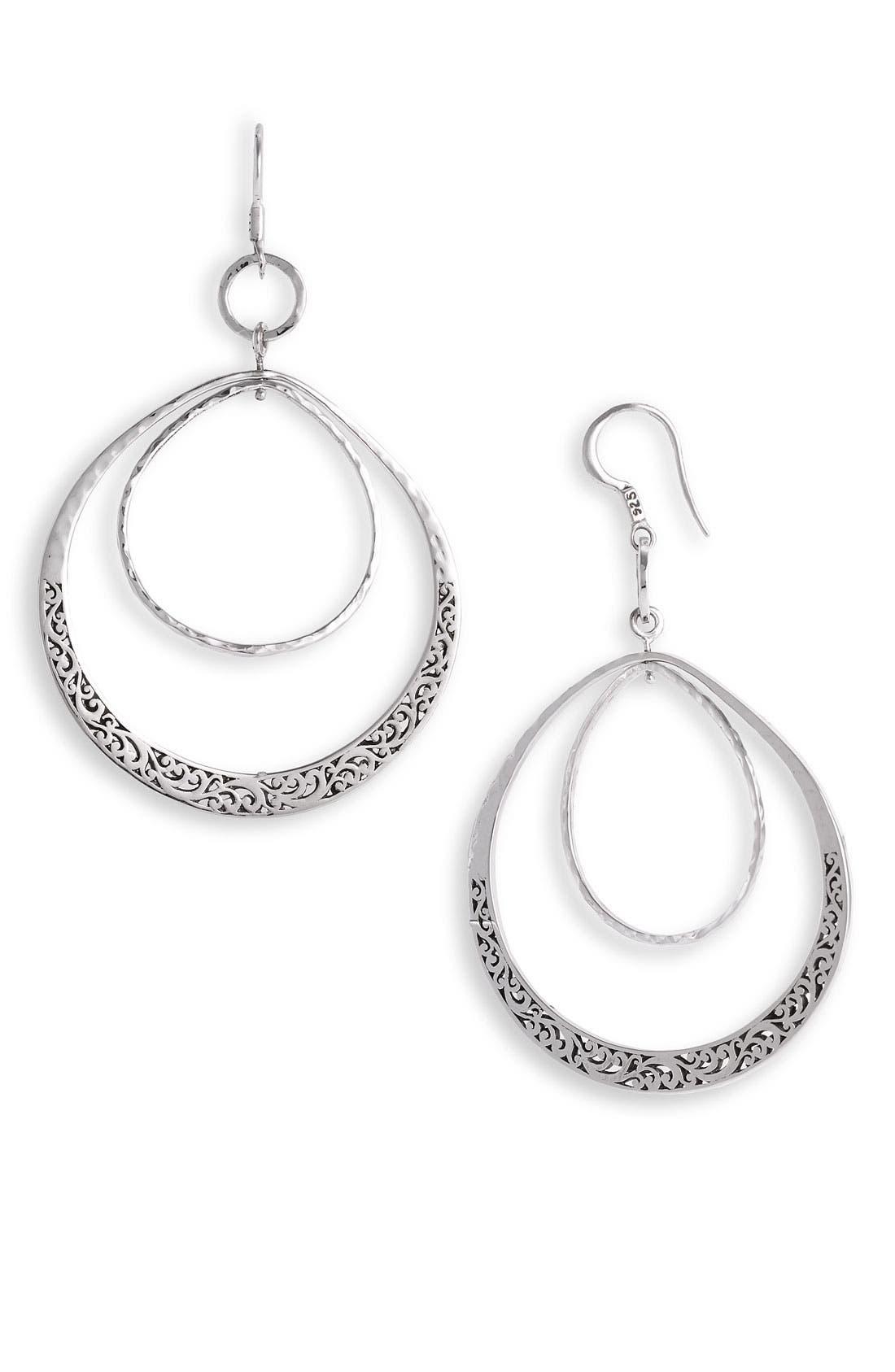 Alternate Image 1 Selected - Lois Hill 'Classics' Large Orbiting Teardrop Earrings