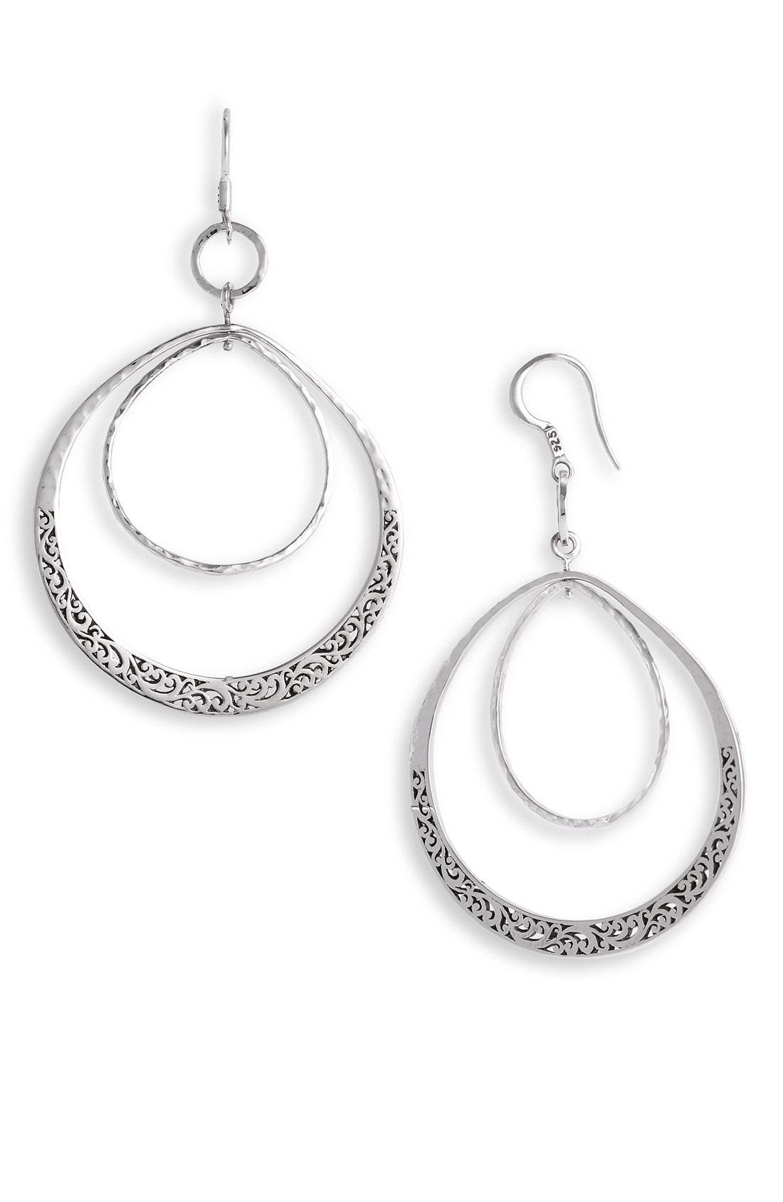 Main Image - Lois Hill 'Classics' Large Orbiting Teardrop Earrings