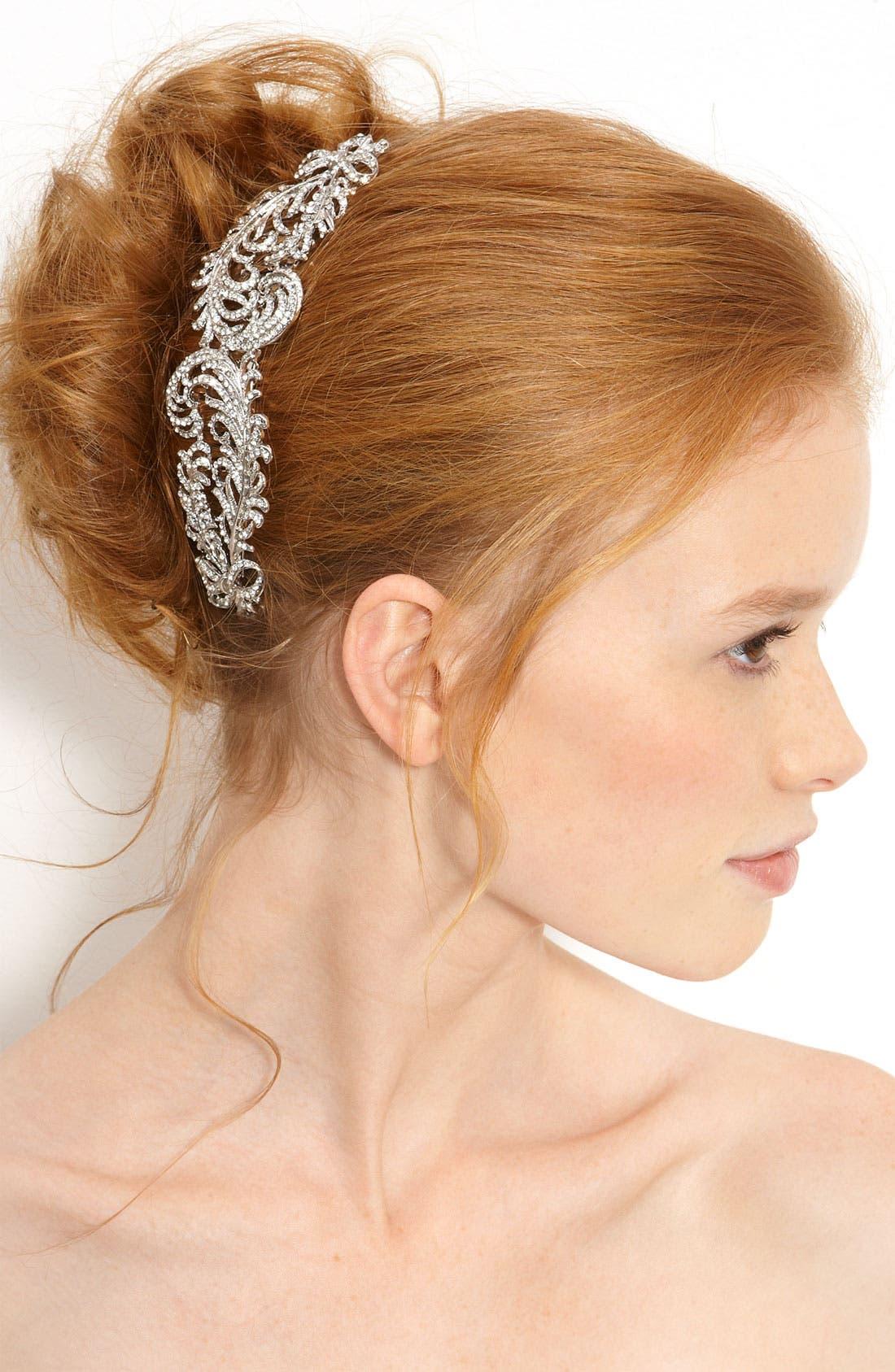 Alternate Image 1 Selected - Nina 'Karenna' Swarovski Crystal Comb