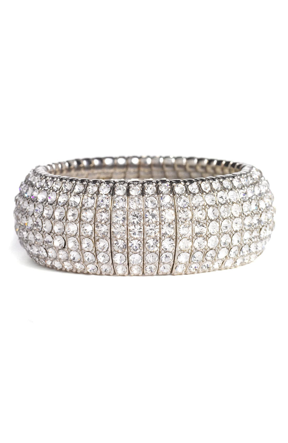 Main Image - Tasha Crystal Stretch Bracelet
