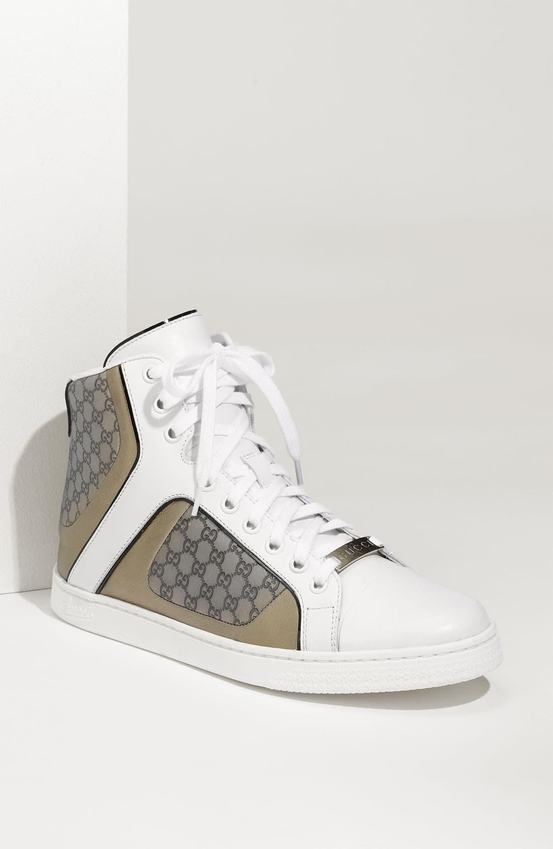 Alternate Image 1 Selected - Gucci 'Coda Pop' High Top Sneaker