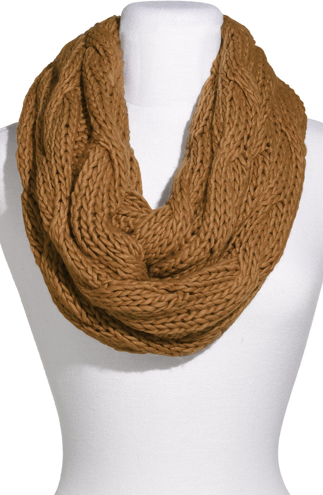 Main Image - Rubbish® Chunky Cabled Infinity Scarf
