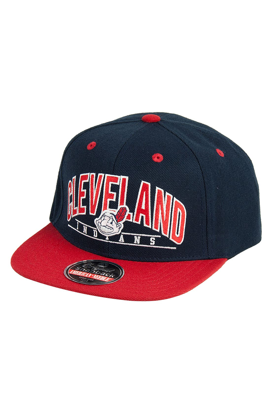 Alternate Image 1 Selected - American Needle 'Arched Indians' Snapback Baseball Cap
