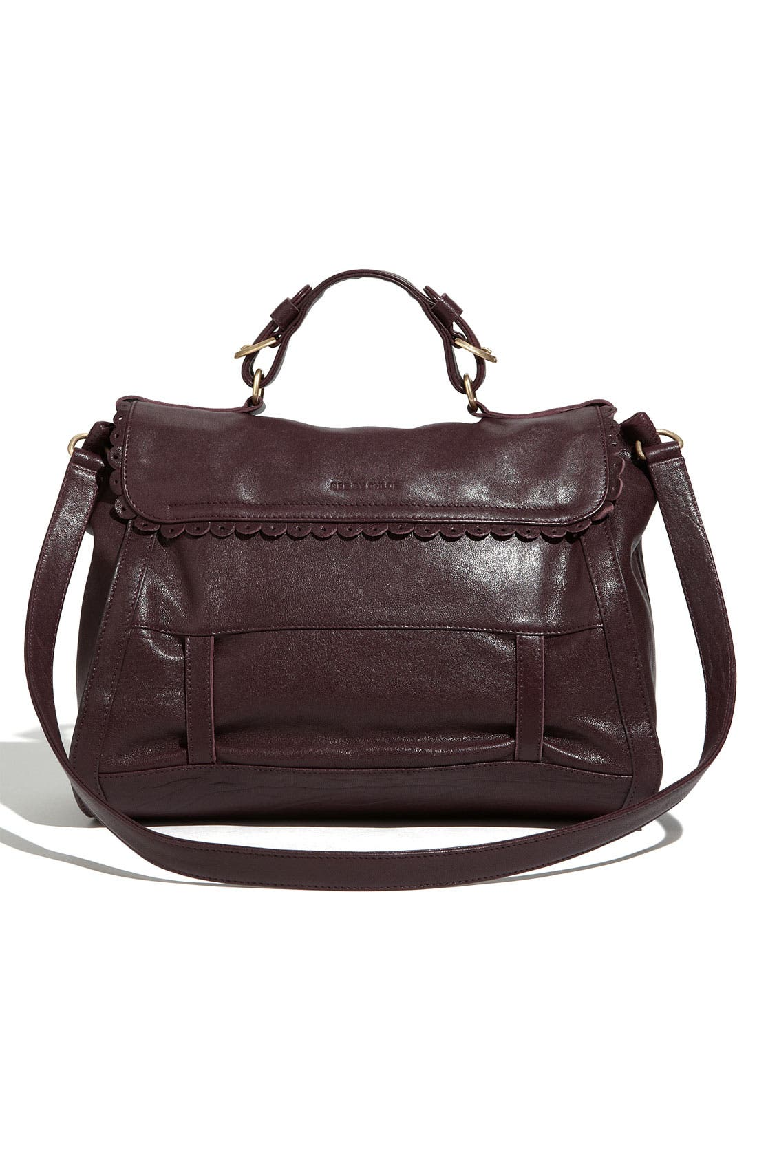 Alternate Image 4  - See By Chloé 'Poya Vintage - Large' Leather Satchel