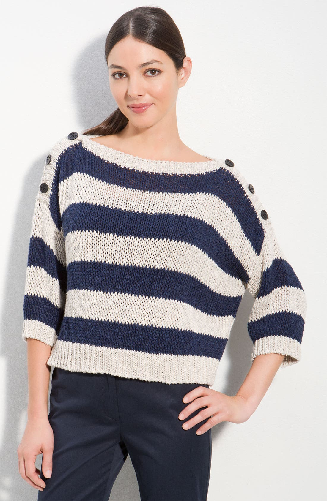 Main Image - Weekend Max Mara 'Dresda' Crop Sweater