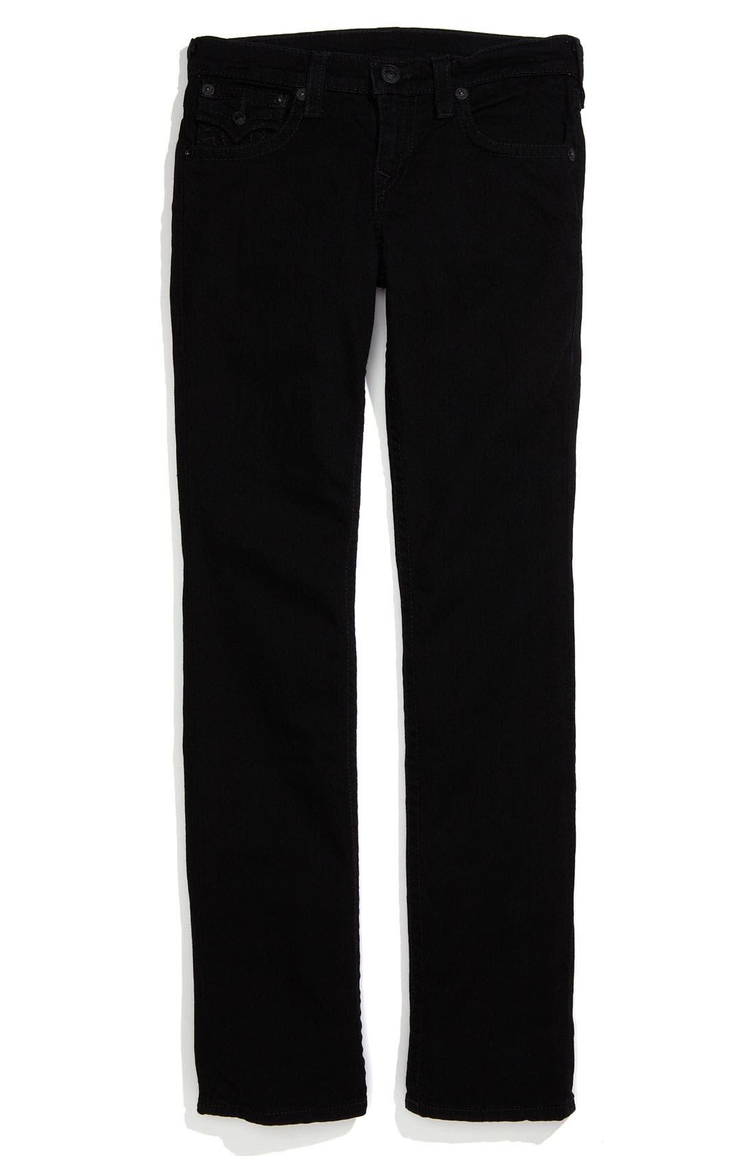 Alternate Image 2  - True Religion Brand Jeans 'Jack' Straight Leg Jeans (Little Boys)