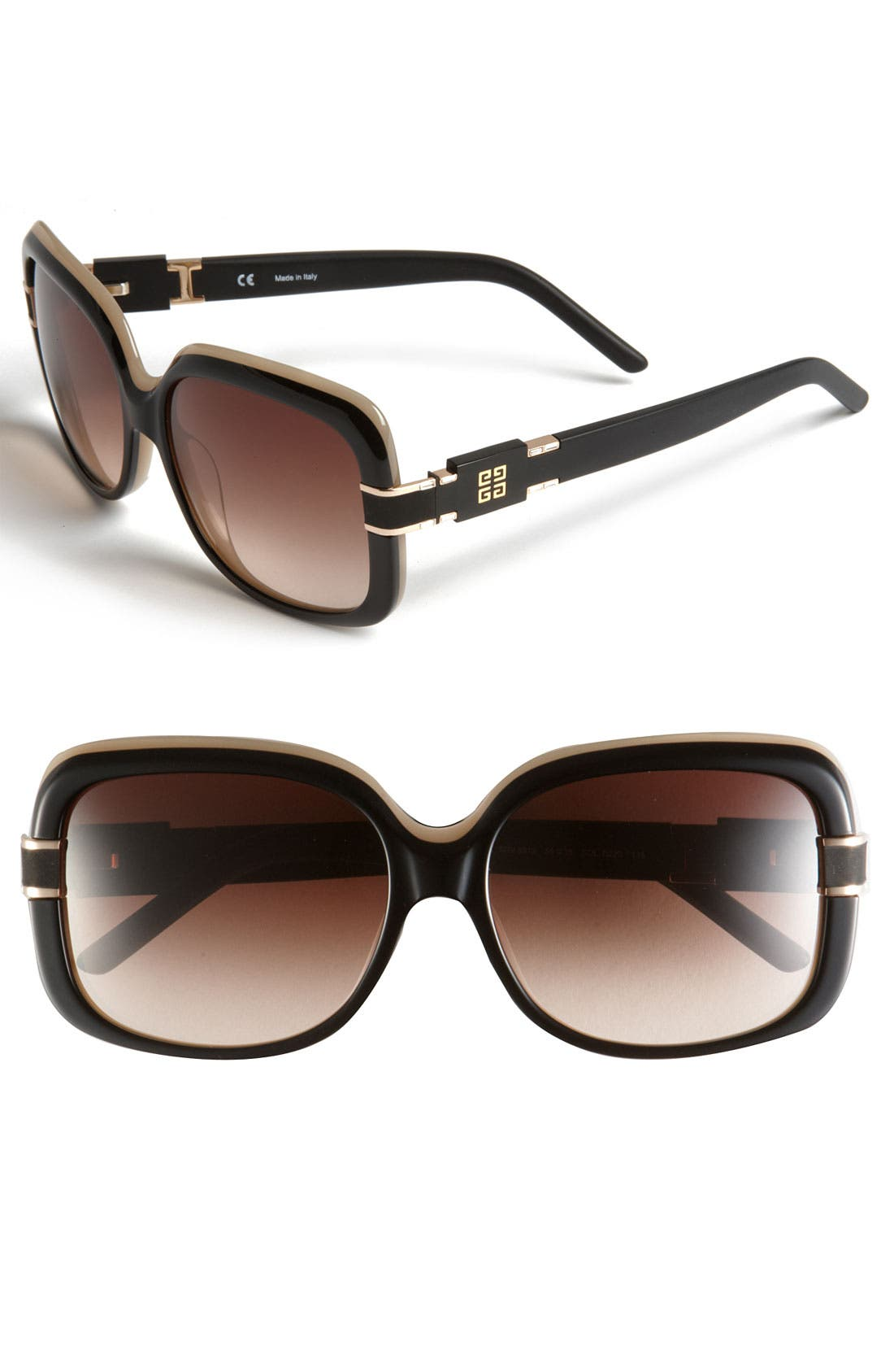 Alternate Image 1 Selected - Givenchy Square Sunglasses