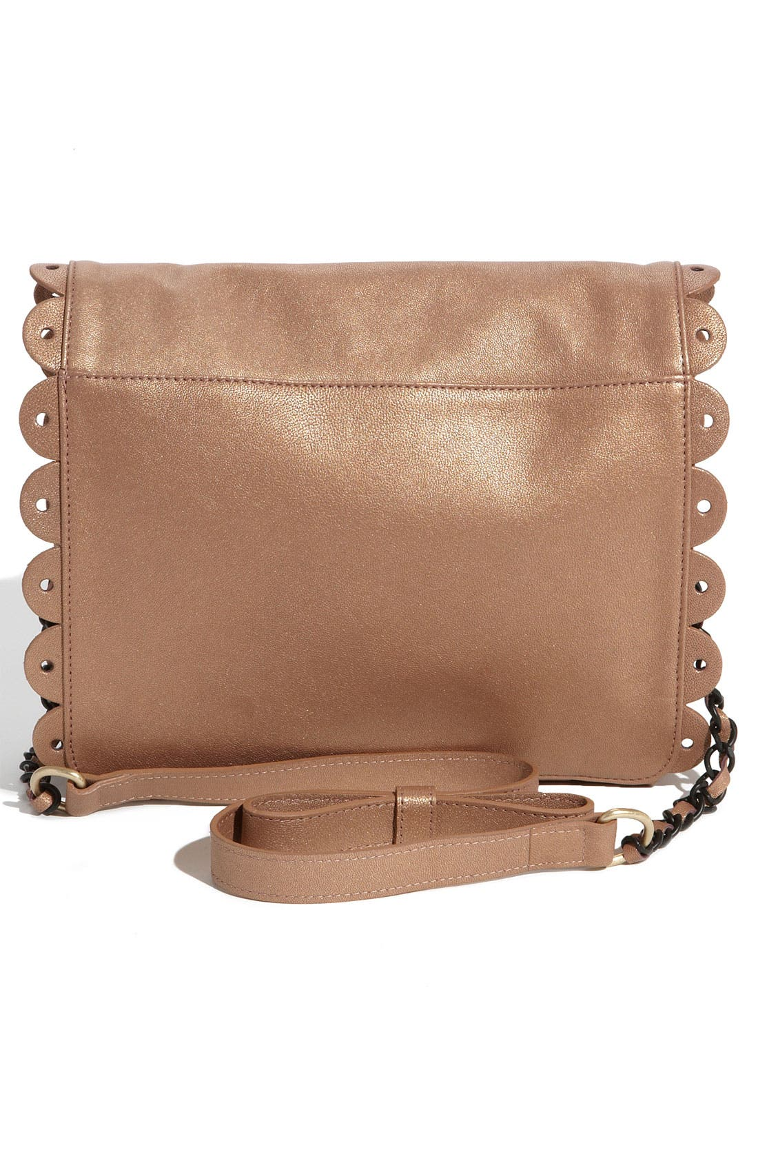 Alternate Image 4  - See By Chloé 'Poya Metallic Vintage - Large' Crossbody Bag