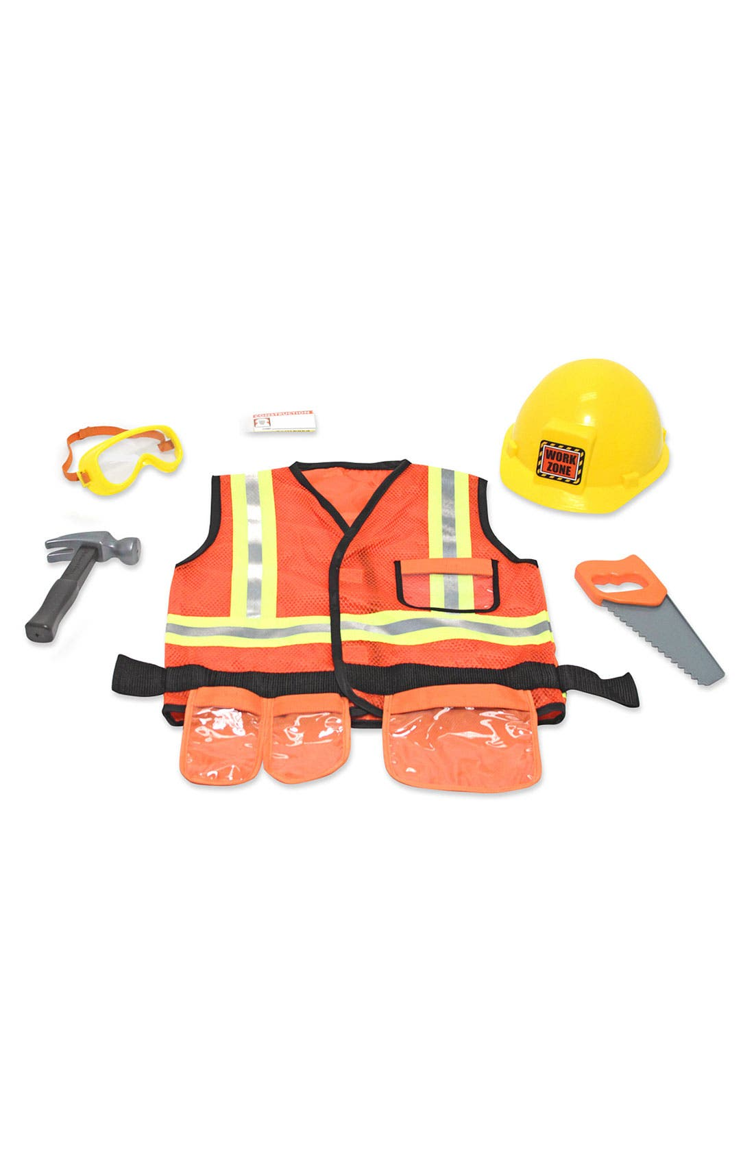 Alternate Image 2  - Melissa & Doug 'Construction Worker' Role Play Set (Toddler)