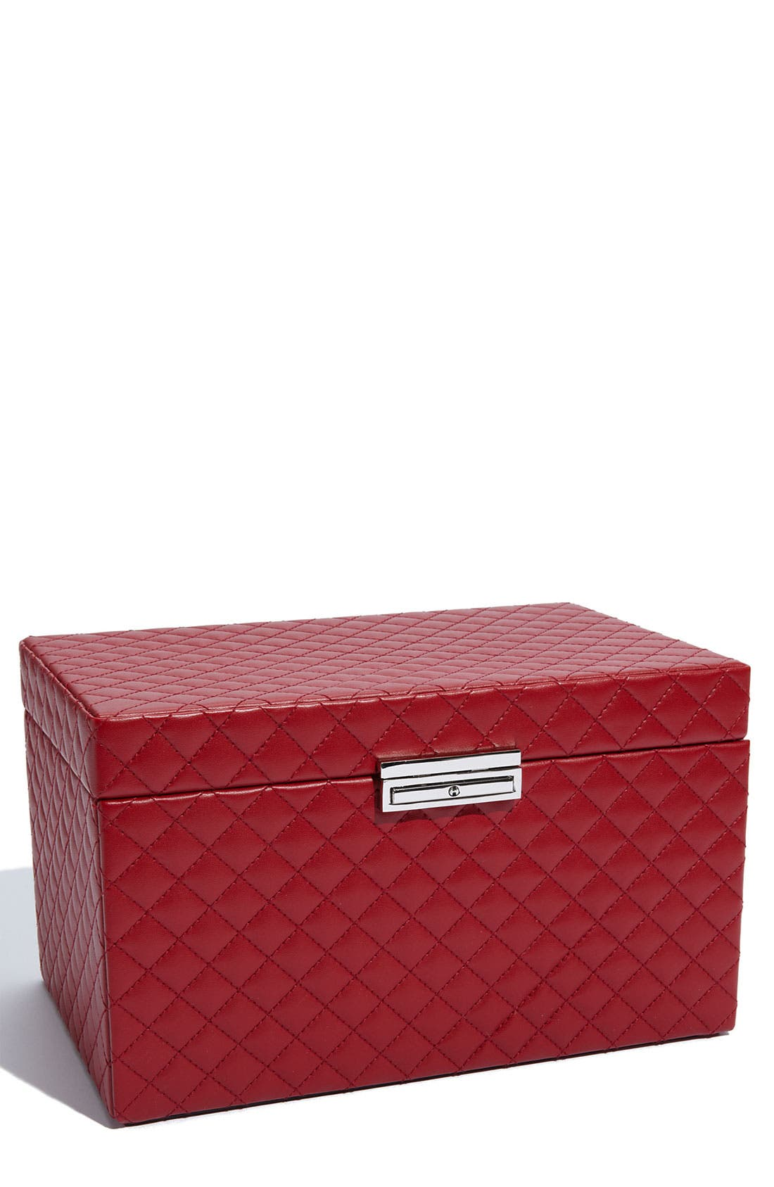 Main Image - Nordstrom LusterLoc™ 'Large' Quilted Jewelry Box