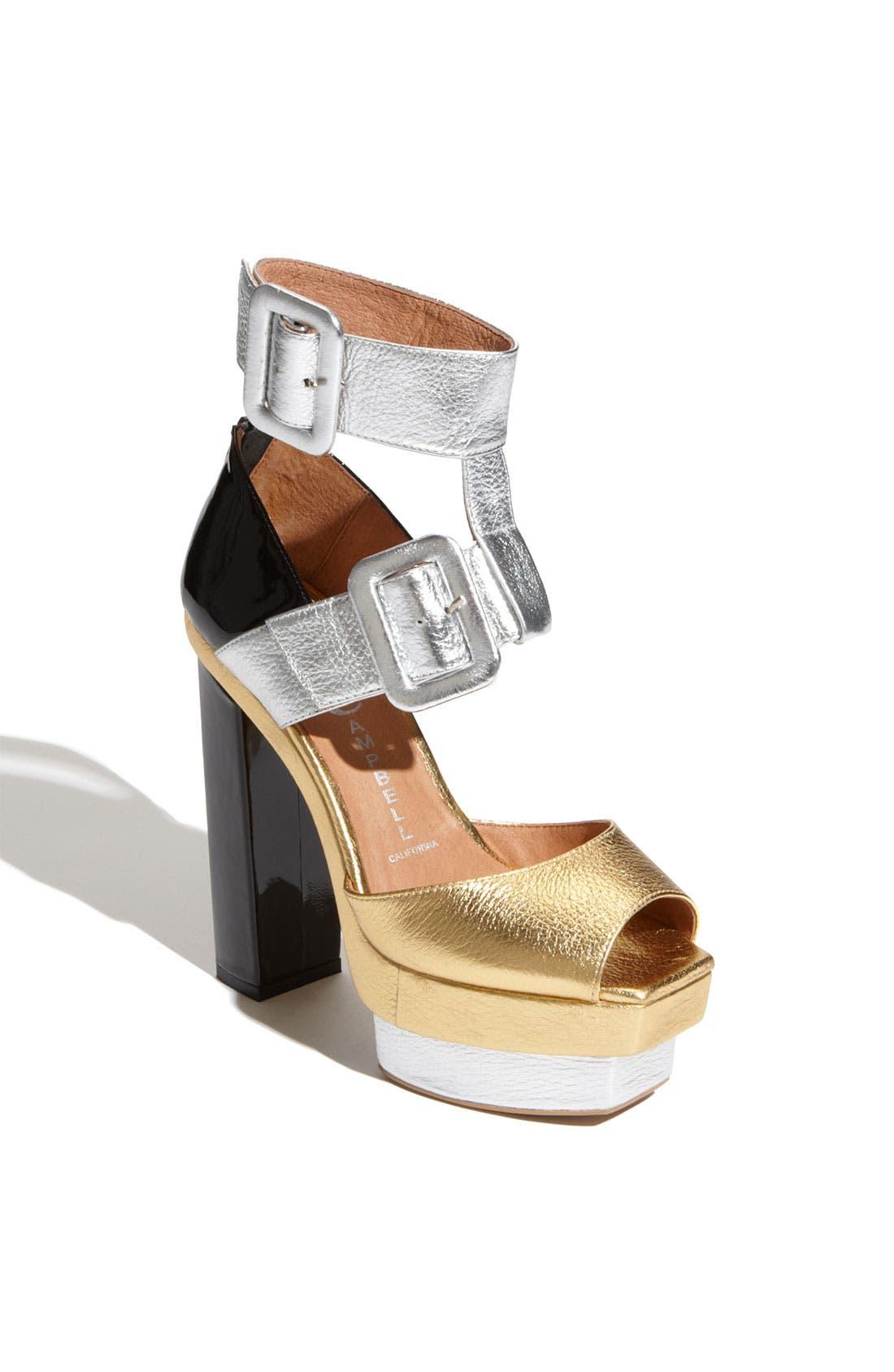 Alternate Image 1 Selected - Jeffrey Campbell 'Dressen' Sandal