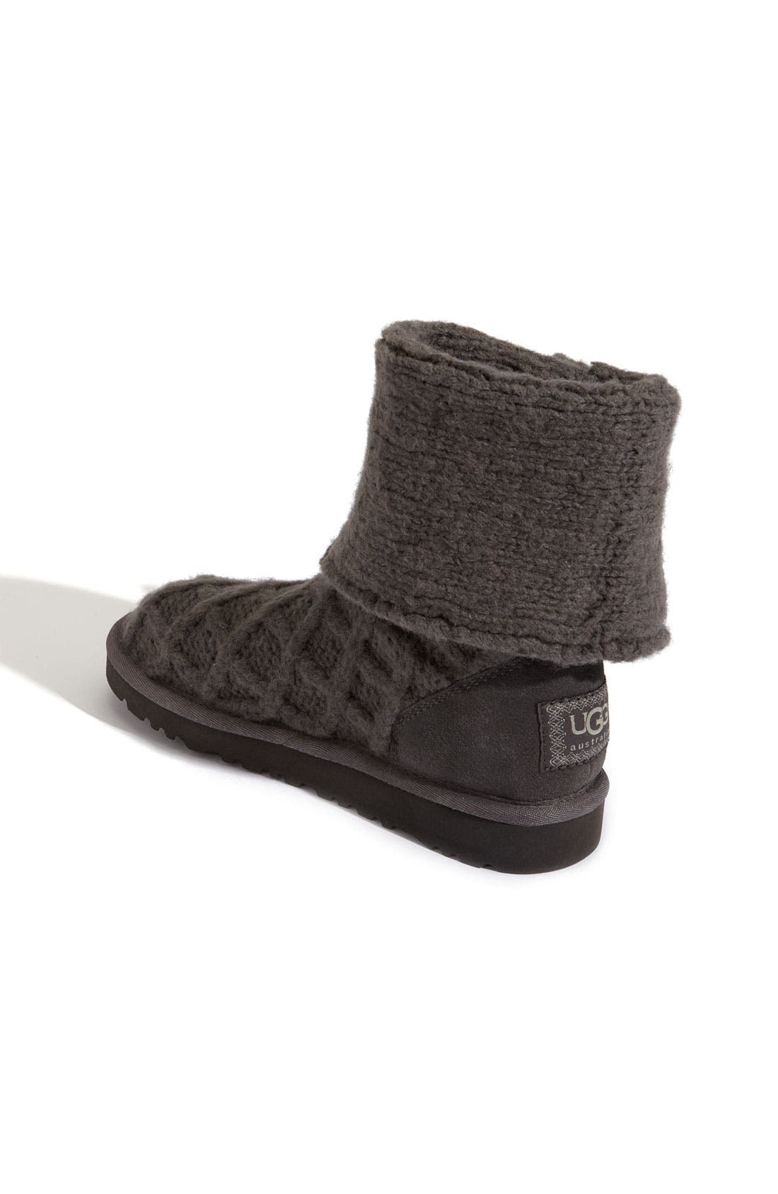 Alternate Image 2  - UGG® Australia 'Lattice Cardy' Boot (Toddler, Little Kid & Big Kid)