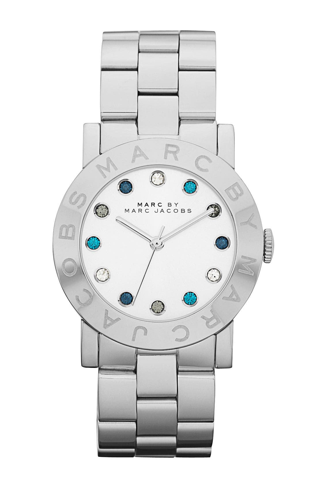 Main Image - MARC JACOBS 'Dexter Amy' Round Bracelet Watch