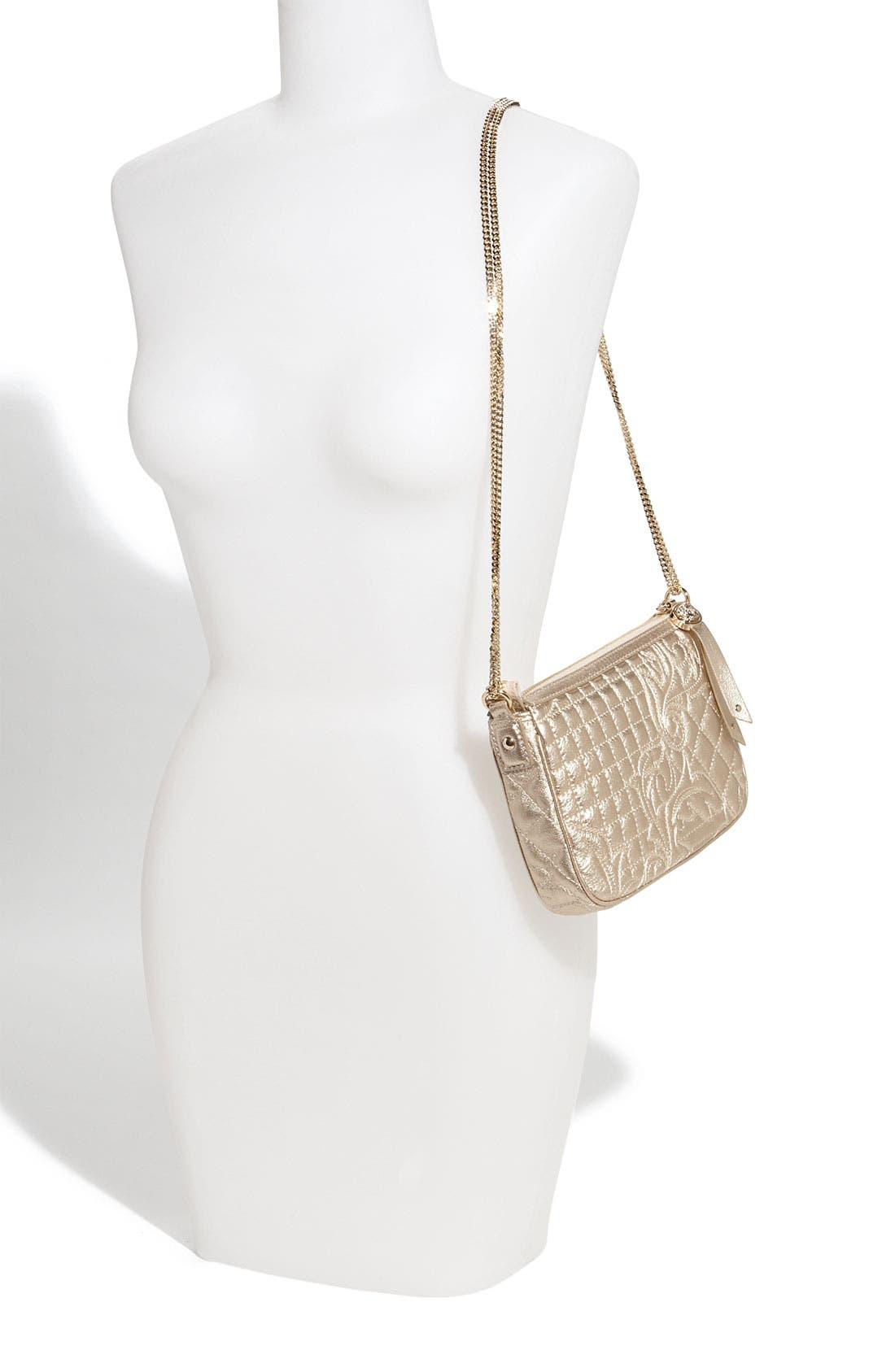 Alternate Image 2  - Versace 'Vanitas' Embroidered Leather Crossbody Bag