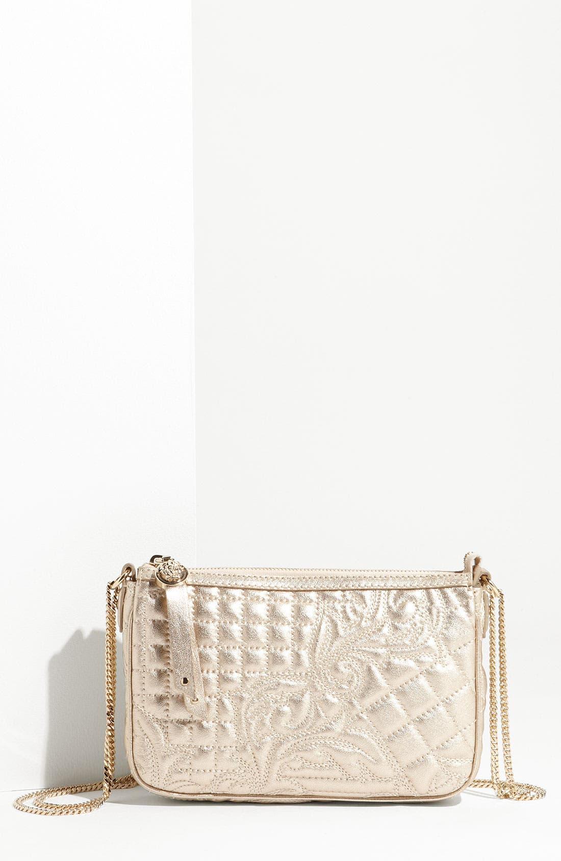 Alternate Image 1 Selected - Versace 'Vanitas' Embroidered Leather Crossbody Bag
