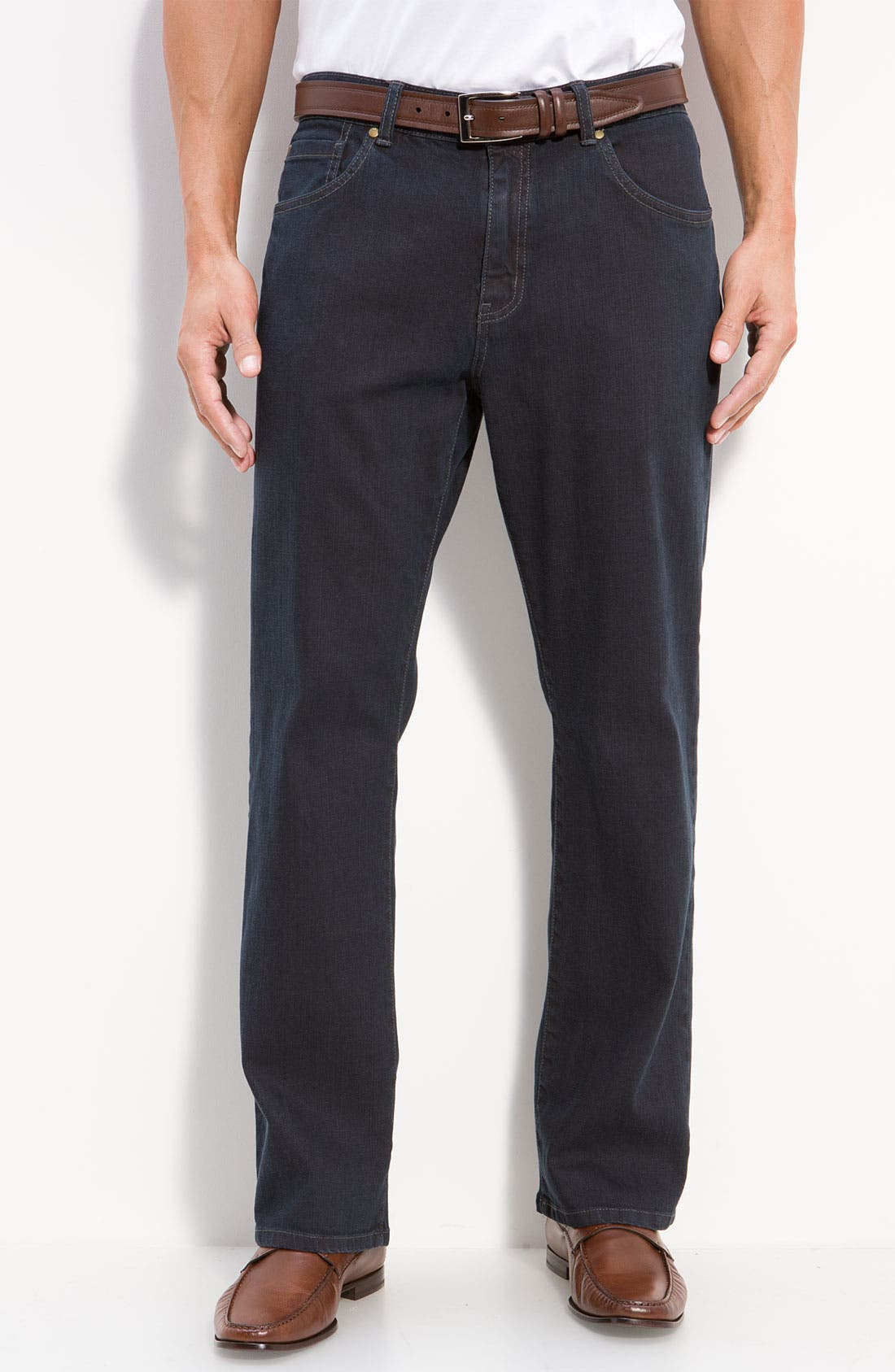Main Image - Cutter & Buck 'Madison Park' Jeans (Carbon) (Big & Tall)
