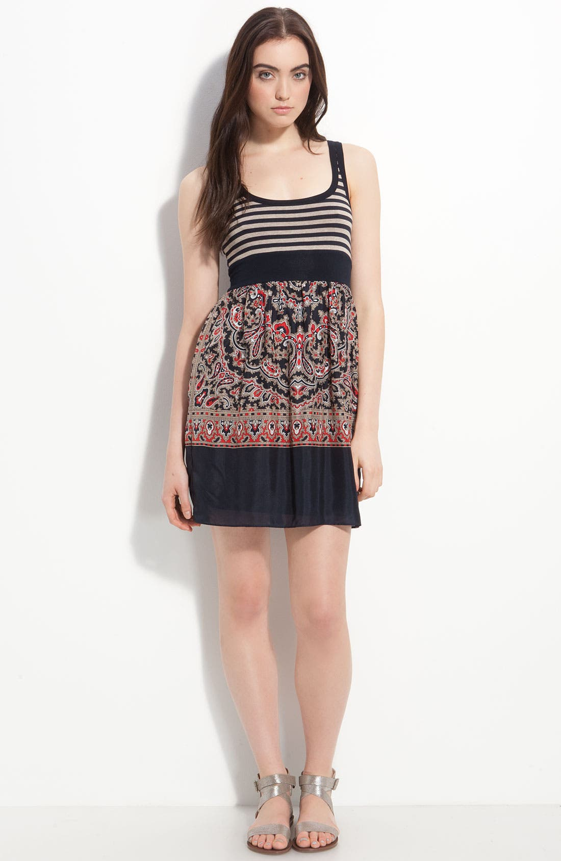 Alternate Image 3  - Bailey 44 'Island Fever' Stripe & Scarf Print Tank Dress