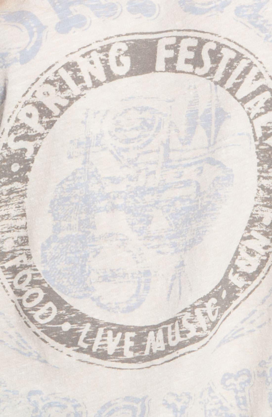Alternate Image 3  - Free People Vintage Festival Graphic Baseball Tee