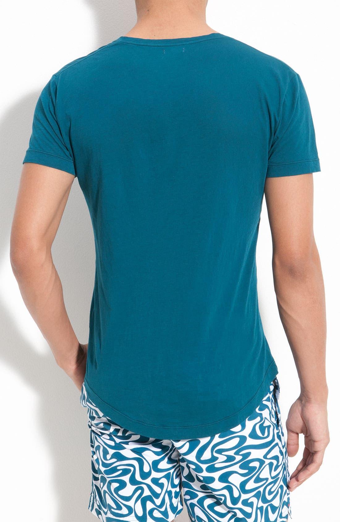 Alternate Image 2  - Orlebar Brown 'Bobby' V-Neck T-Shirt