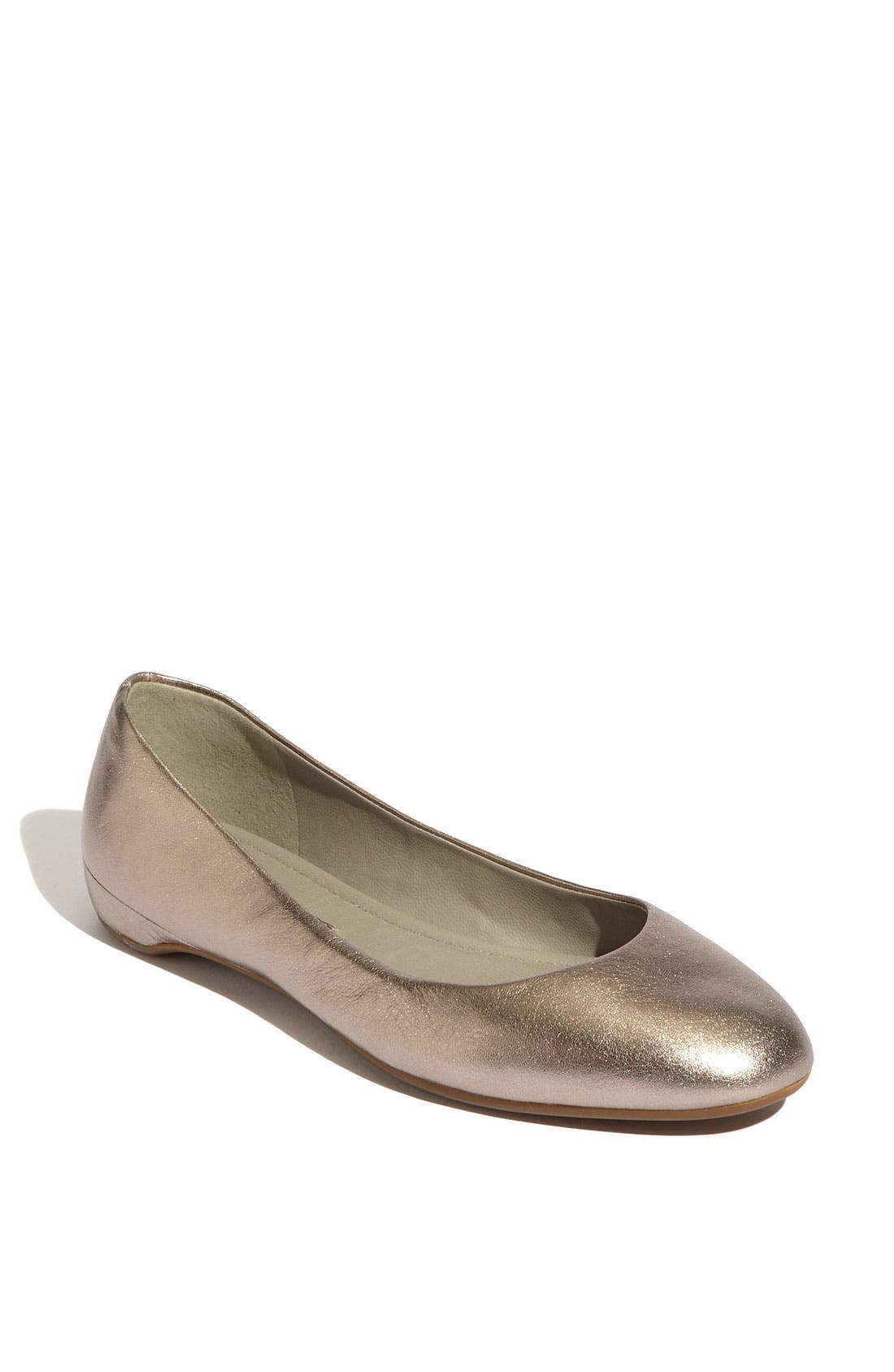 Alternate Image 1 Selected - ECCO 'Mary' Ballerina Flat
