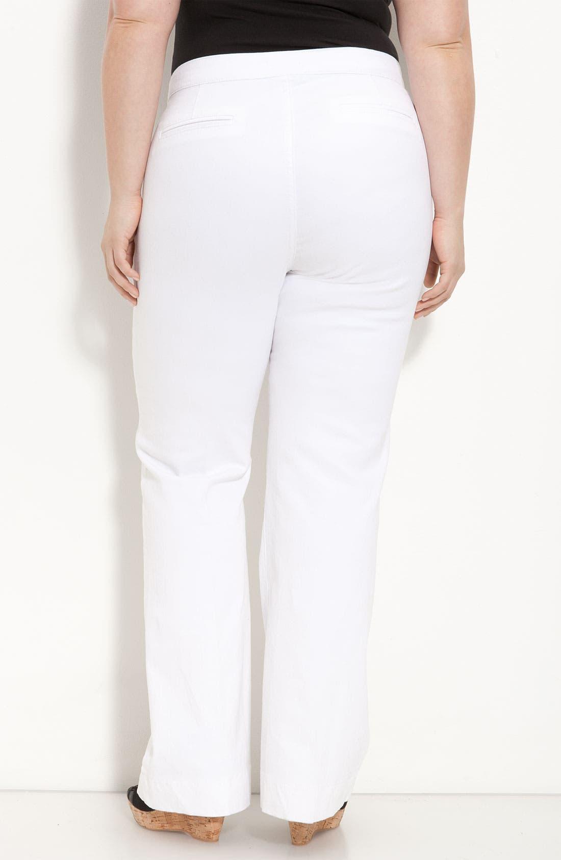 Alternate Image 2  - NYDJ 'Michelle' Trousers (Plus)