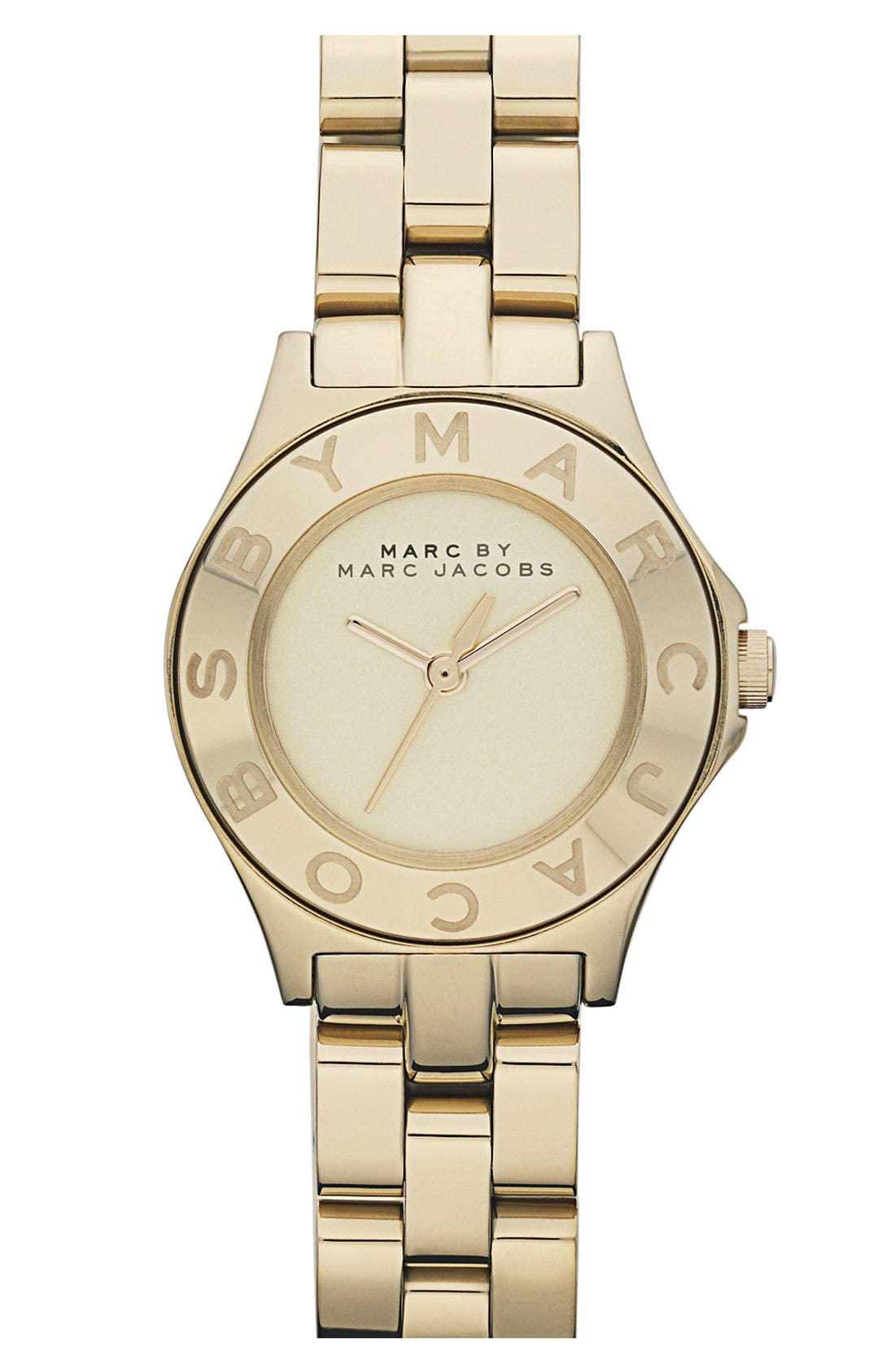 Alternate Image 1 Selected - MARC BY MARC JACOBS 'Small Blade' Round Bracelet Watch
