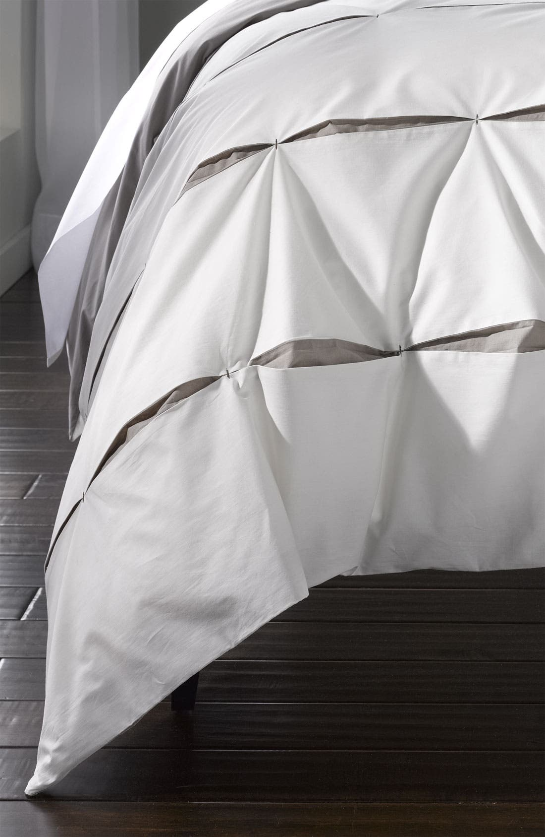 Alternate Image 1 Selected - Nordstrom at Home 'Contrast Pleat' Duvet