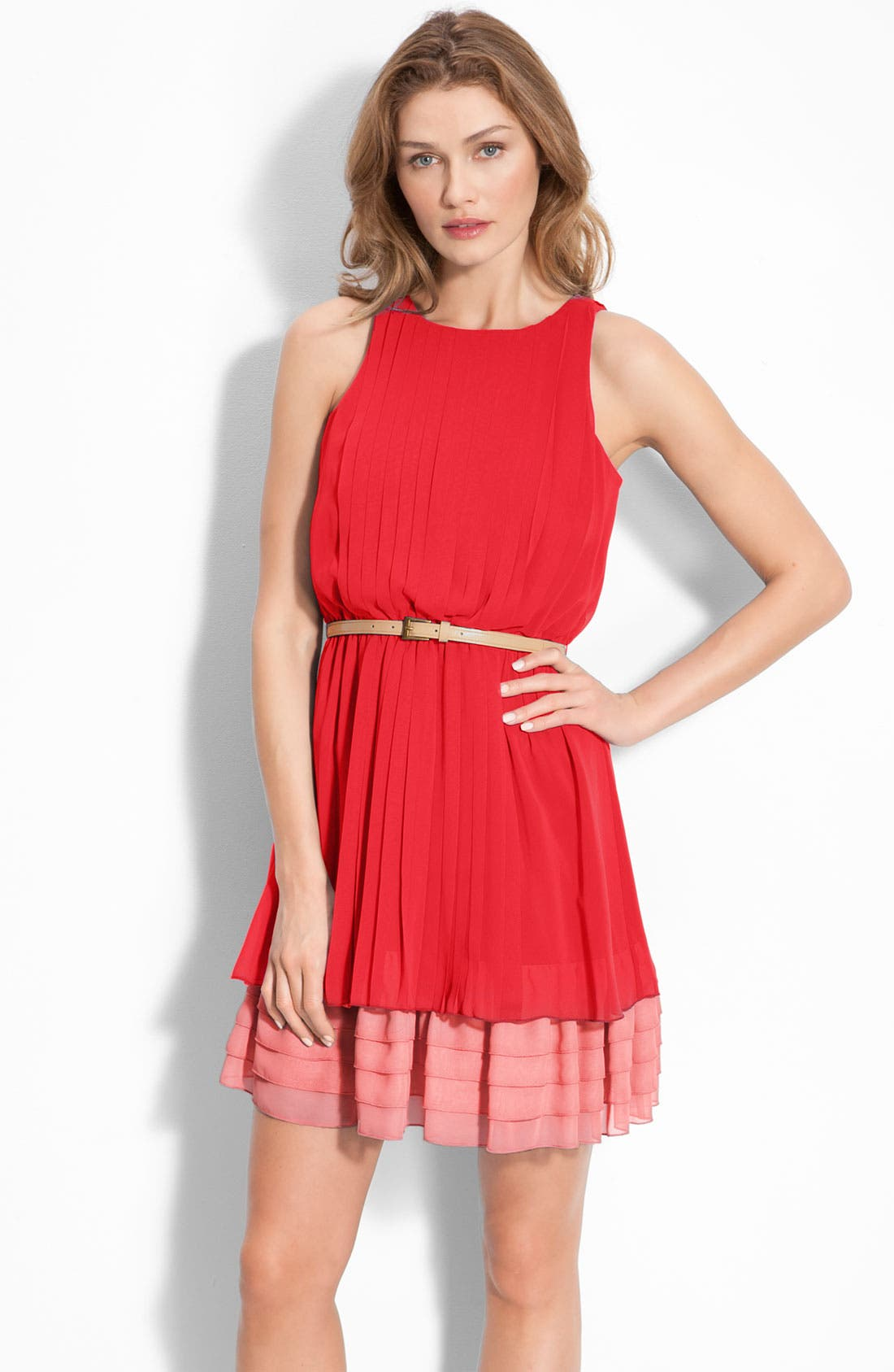 Main Image - Jessica Simpson Sleeveless Chiffon Dress
