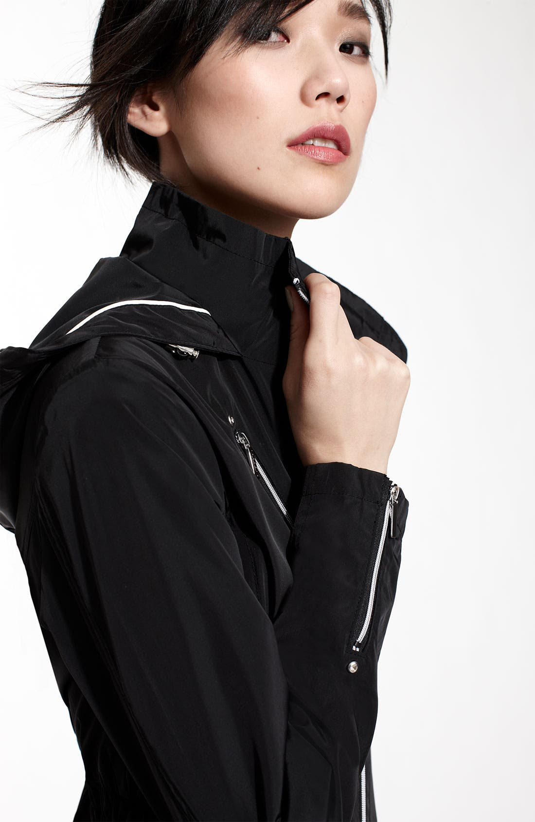 Alternate Image 3  - Laundry by Shelli Segal Hooded Anorak (Nordstrom Exclusive)
