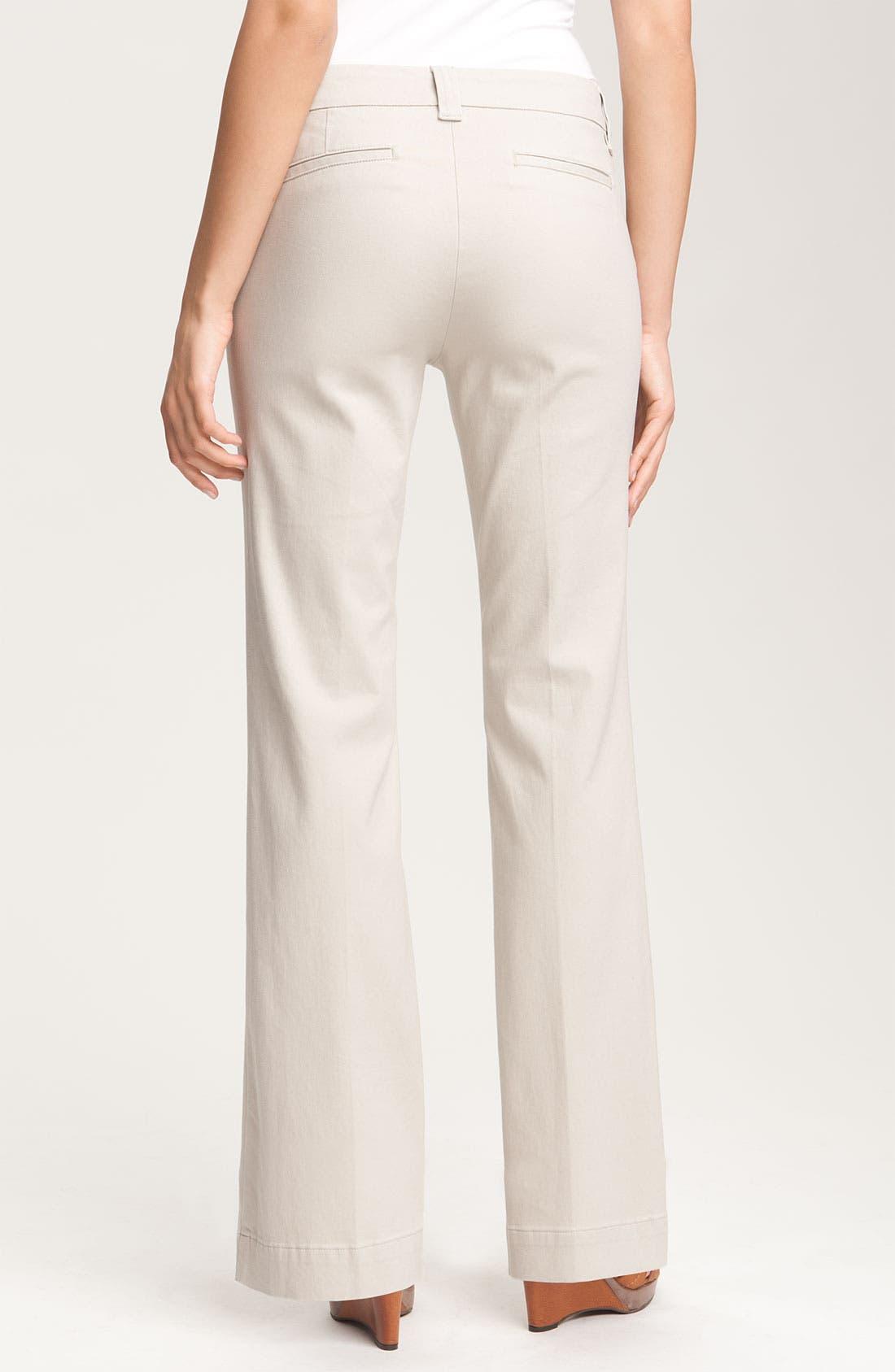 Alternate Image 2  - NYDJ 'Vanessa' Stretch Trousers (Petite)