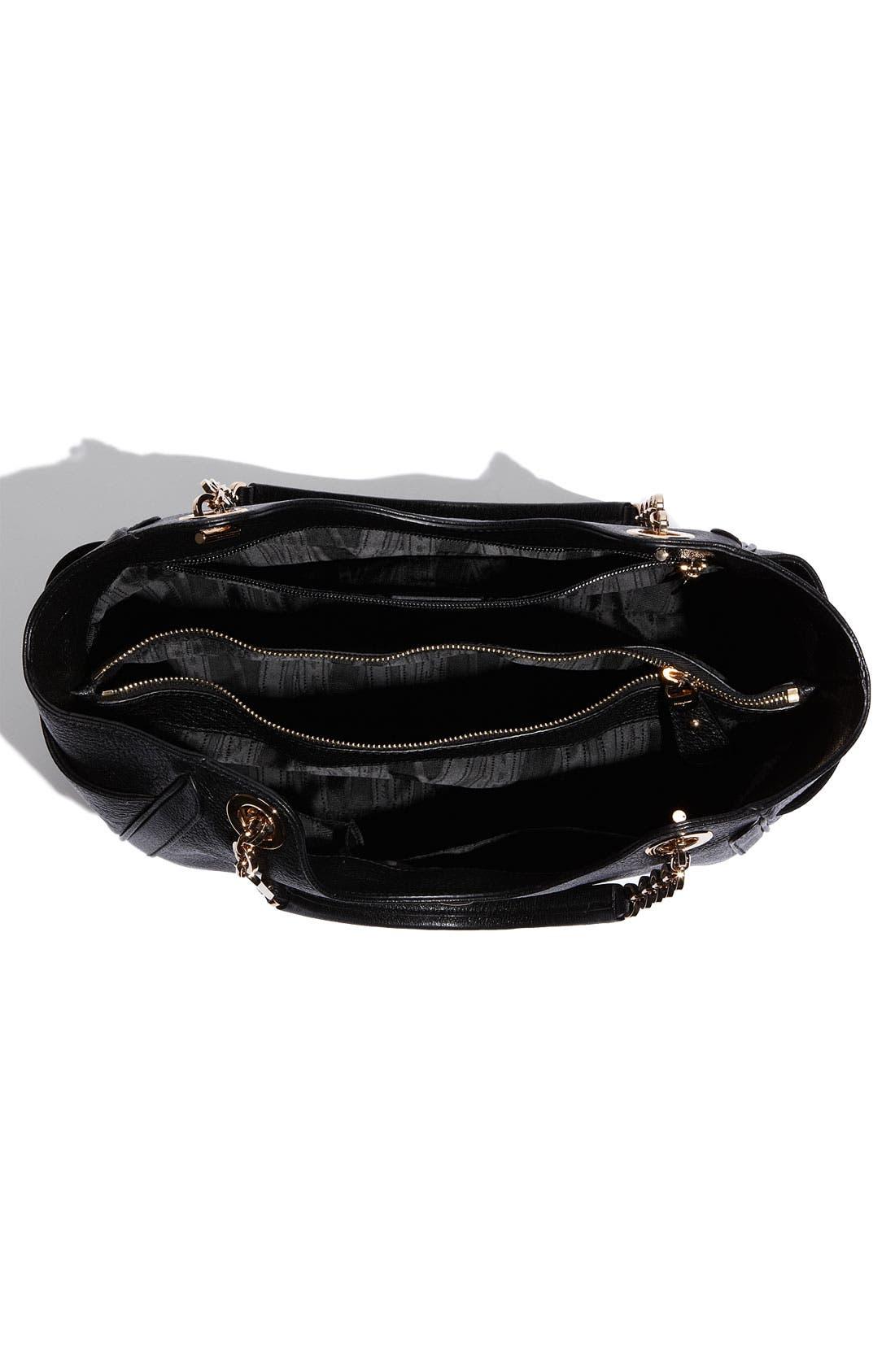 Alternate Image 3  - Salvatore Ferragamo 'Betulla Chain' Leather Shopper