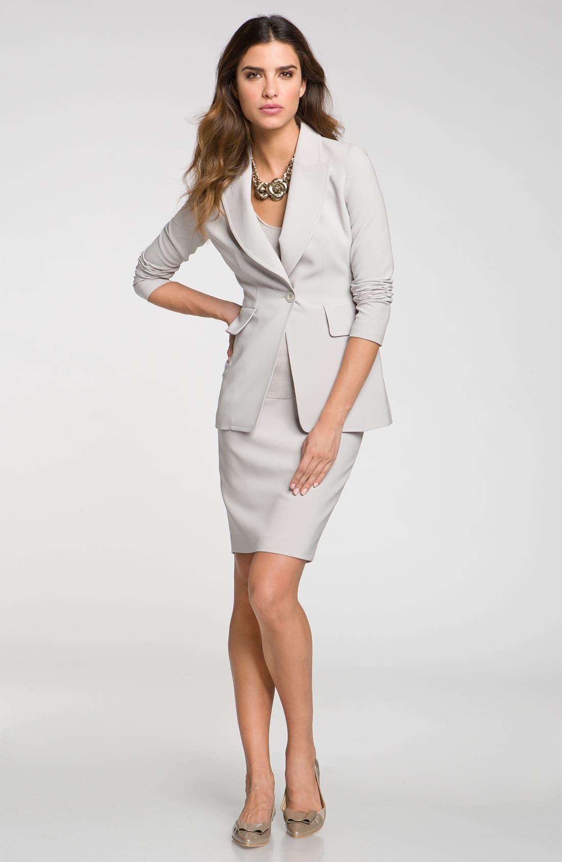 Main Image - St. John Collection Blazer & Skirt