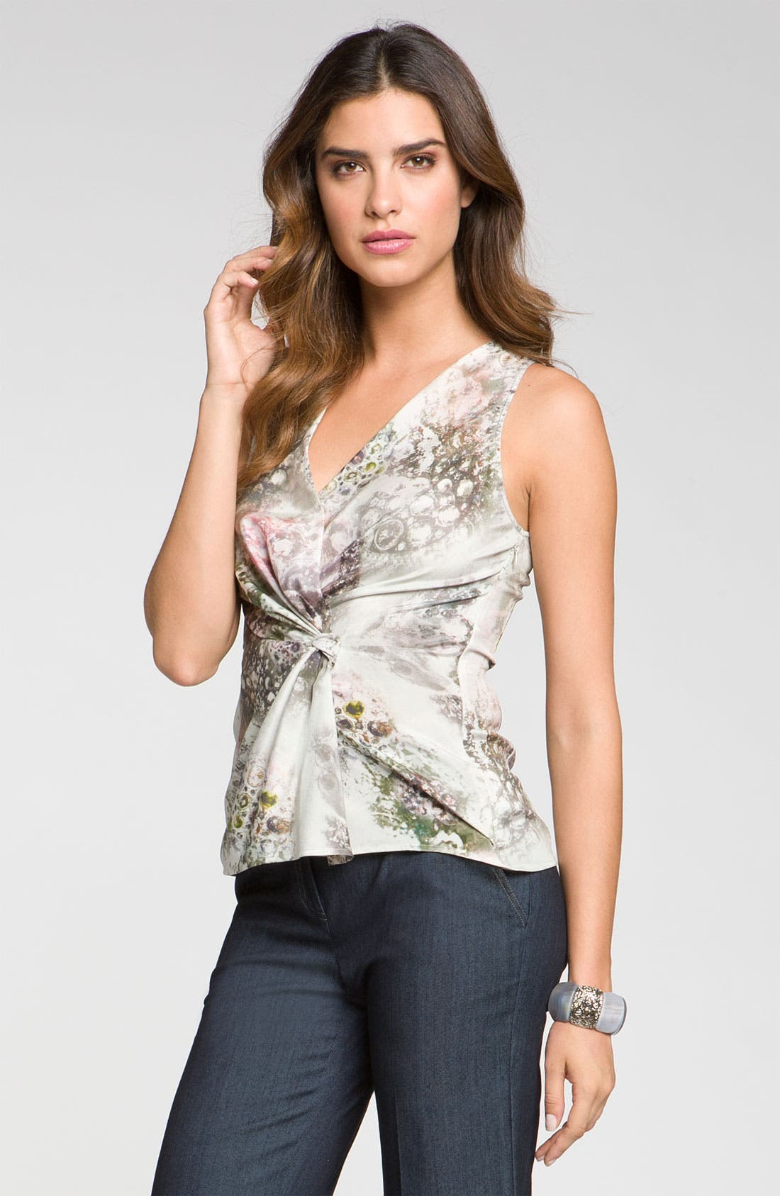 Main Image - St. John Collection 'Bijoux' Print Top