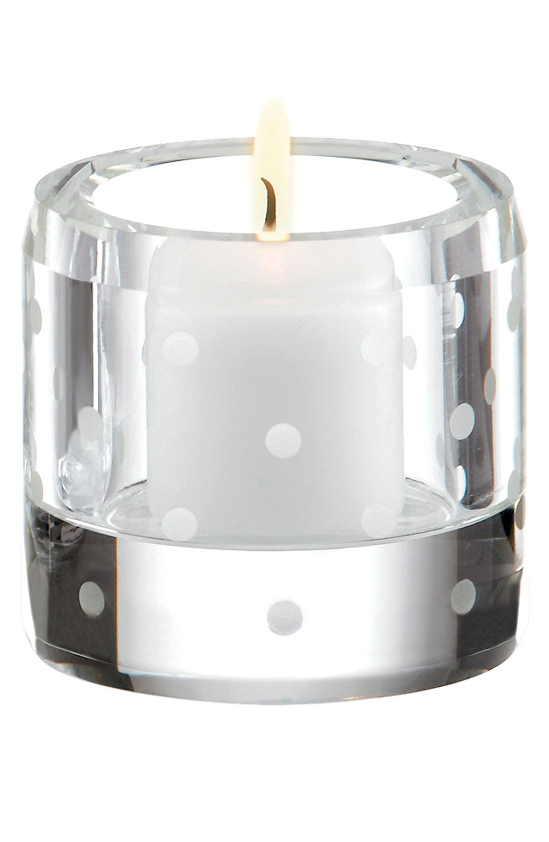 Alternate Image 1 Selected - kate spade new york 'larabee dot' votive candle holder