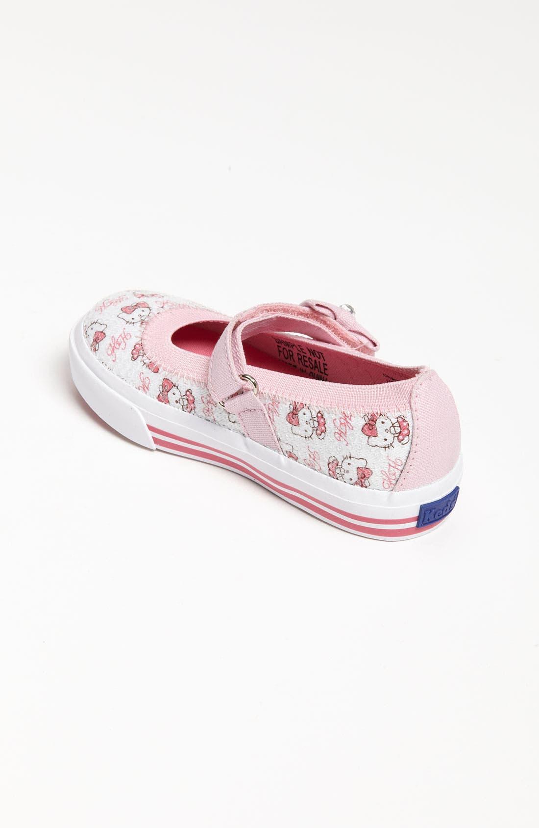 Alternate Image 2  - Keds® 'Hello Kitty® -Charmmy' Mary Jane (Baby, Walker & Toddler)
