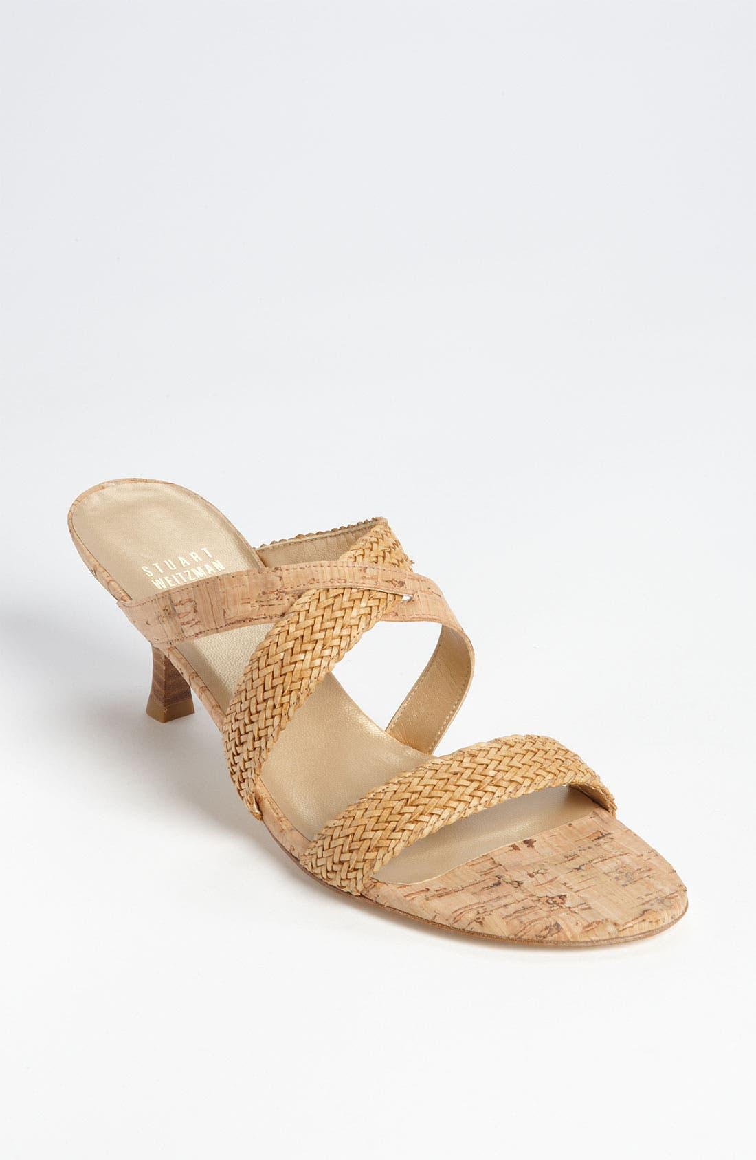 Alternate Image 1 Selected - Stuart Weitzman 'Purebred' Sandal