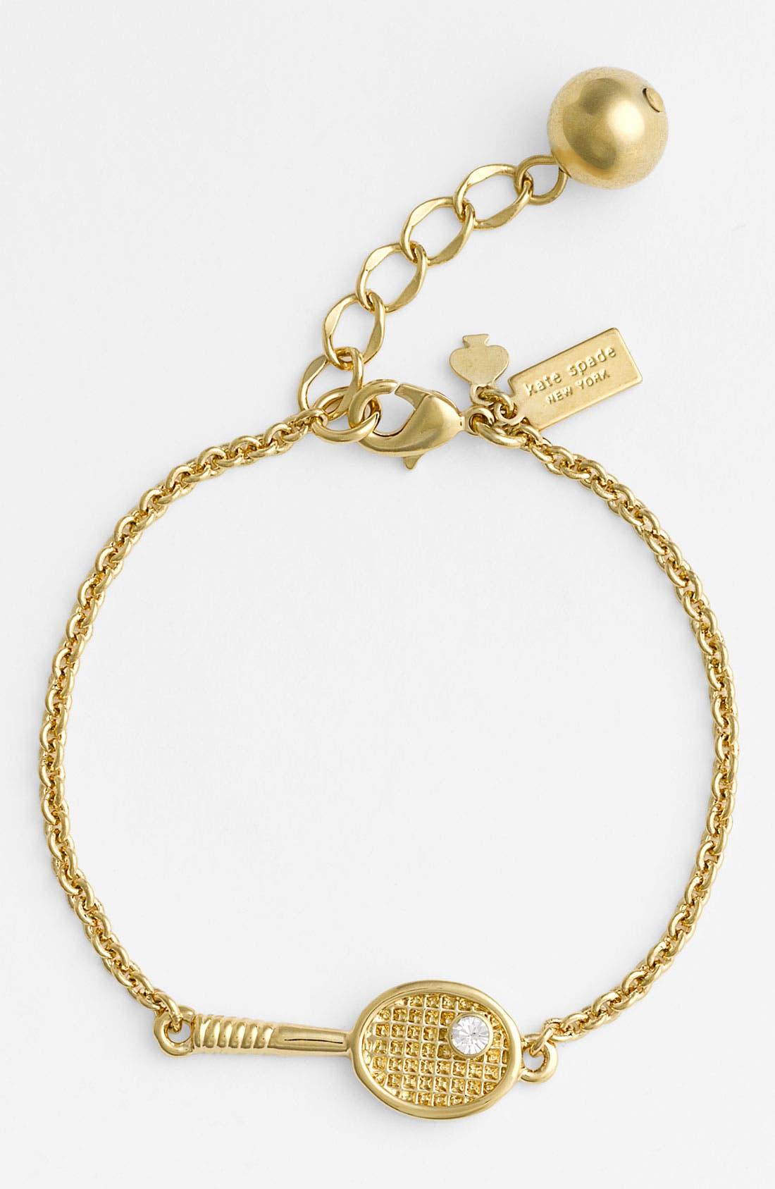 Alternate Image 1 Selected - kate spade new york 'match point' tennis bracelet