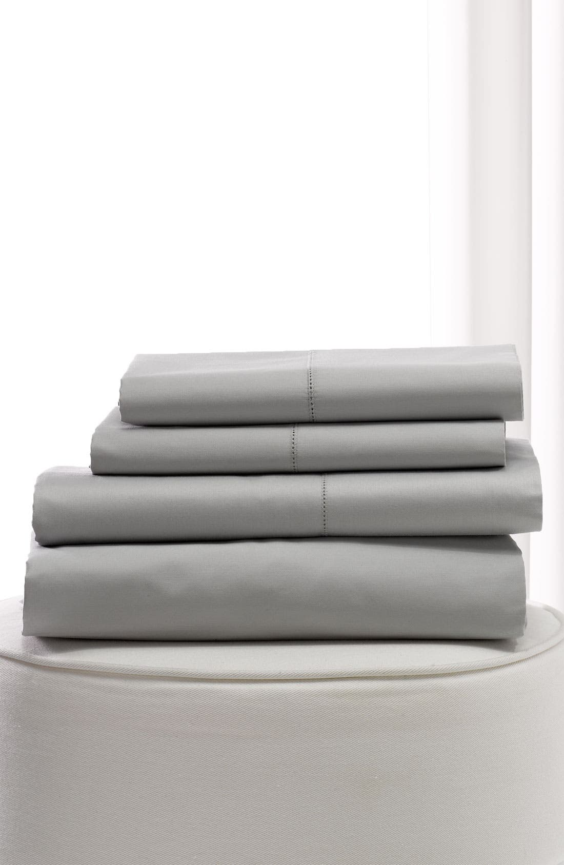 Alternate Image 1 Selected - Nordstrom at Home 500 Thread Count Flat Sateen Sheet